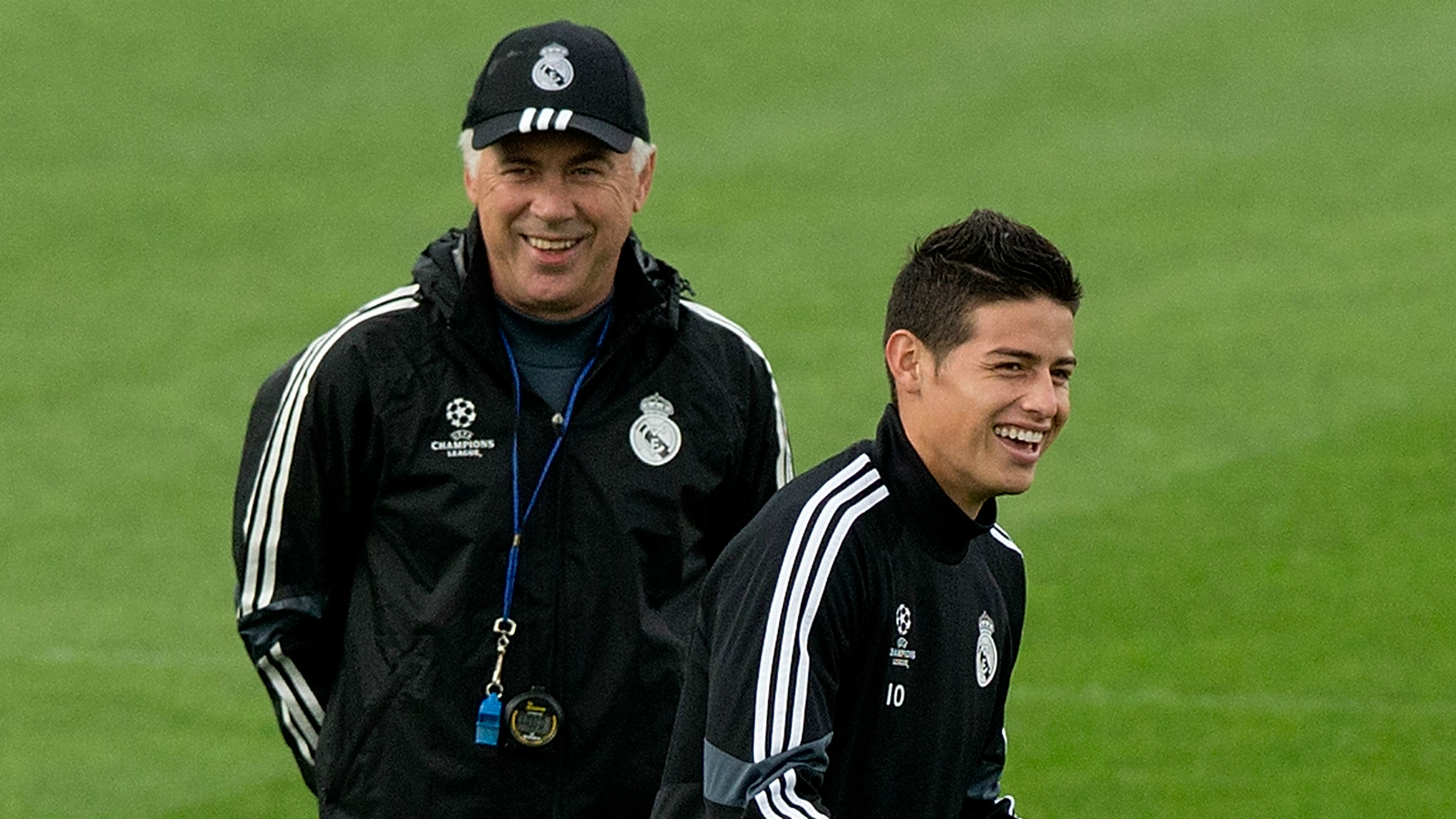 Ancelotti expects James negotiations with Real Madrid to take 'a very long time'