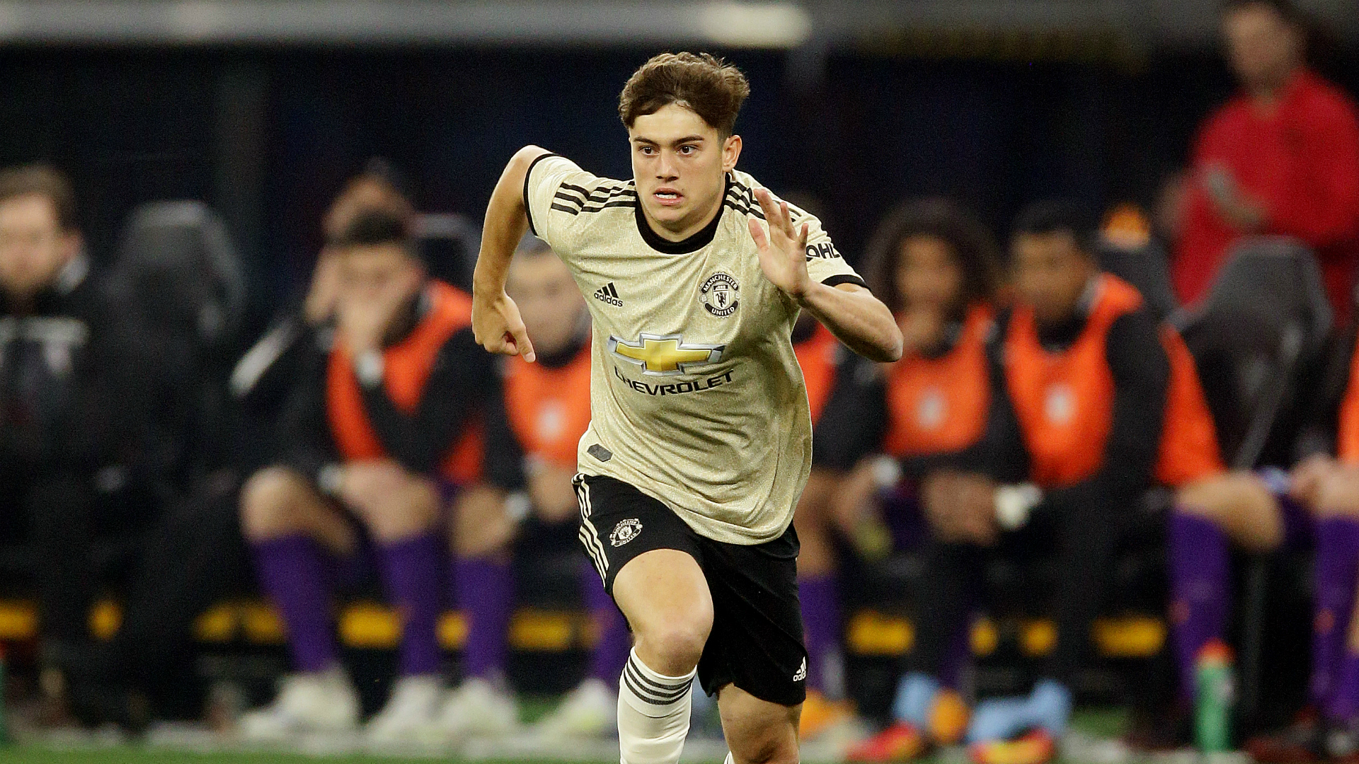 Every young winger looks up to him - James aspires to be like Giggs
