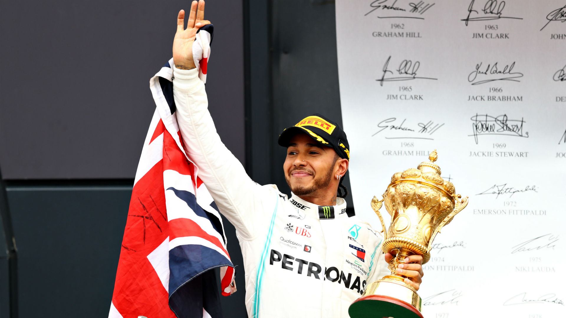 It feels like the first time - Hamilton's joy of six at Silverstone