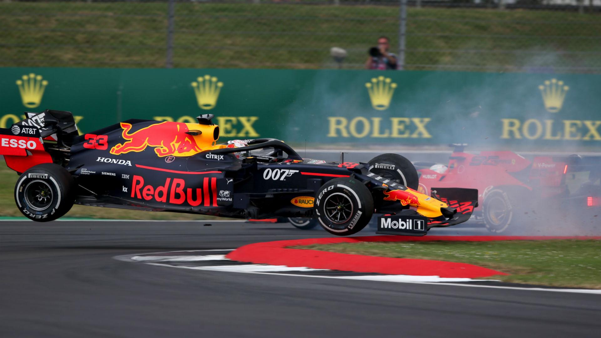 I don't know how I finished, says Verstappen after Vettel crash