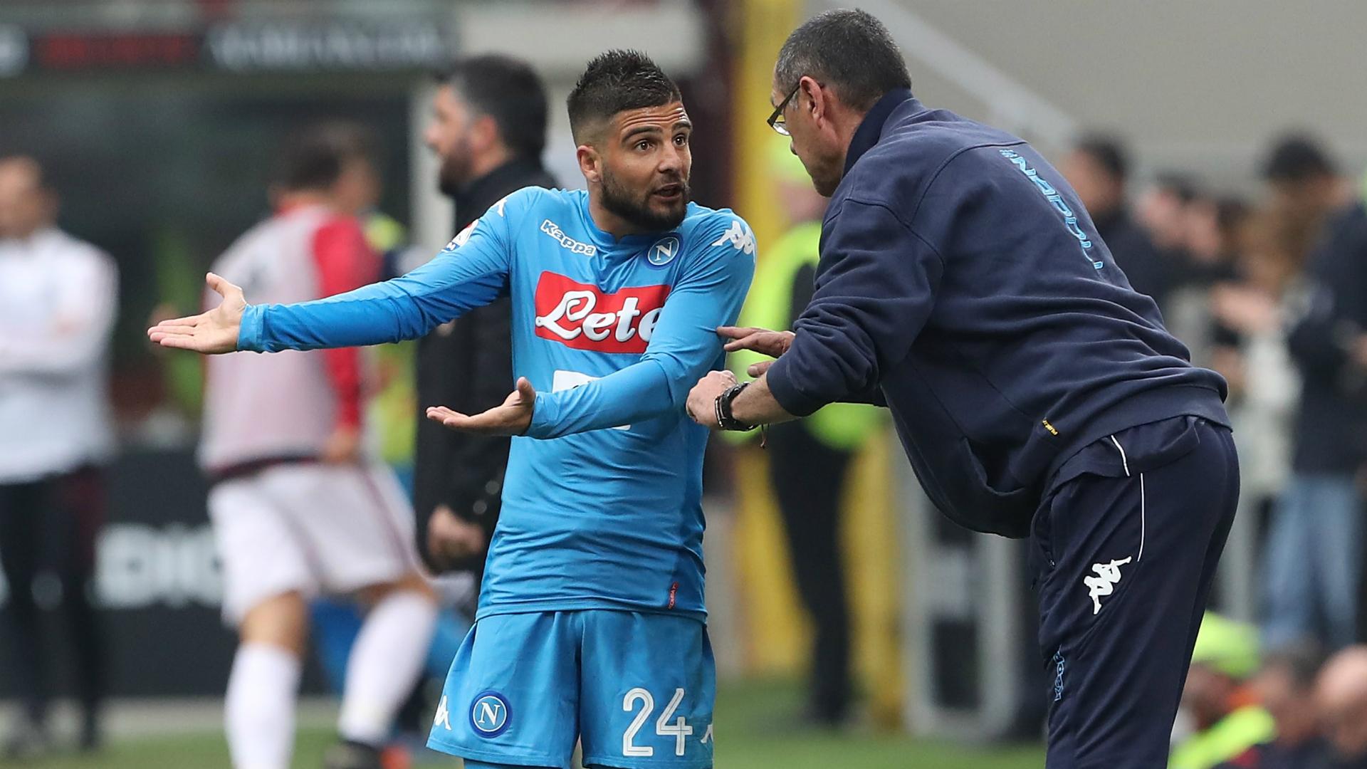 Sarri betrayed Napoli by joining Juventus – Insigne