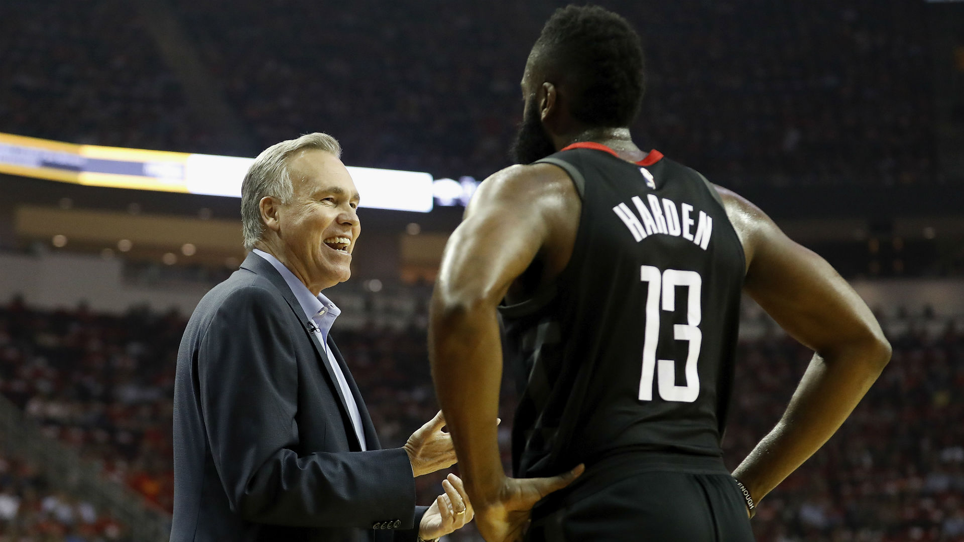 Mike D'Antoni isn't thinking extension as Rockets alter team dynamics, agent says
