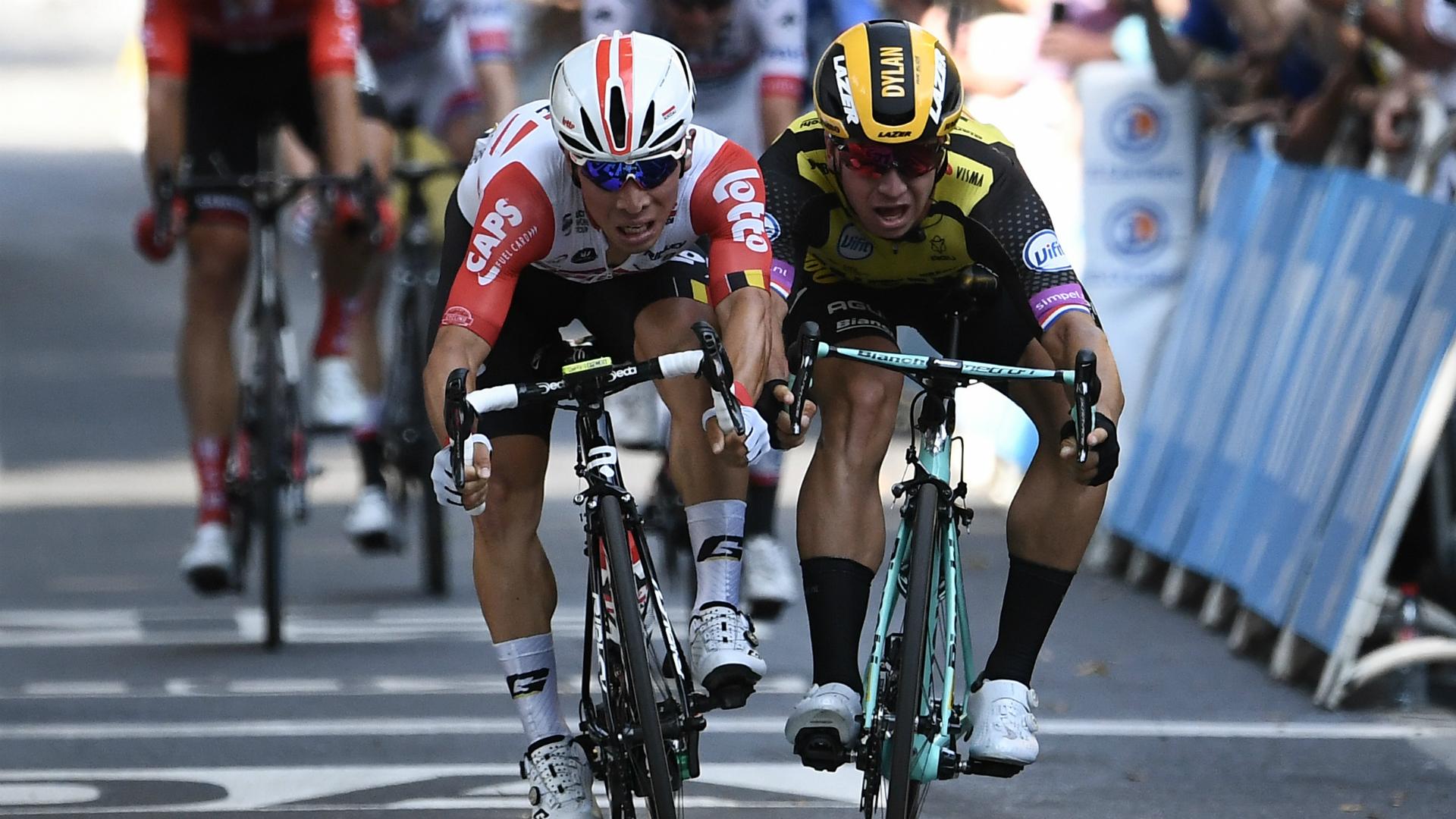 Ewan triumphs in tight stage 11 sprint finish