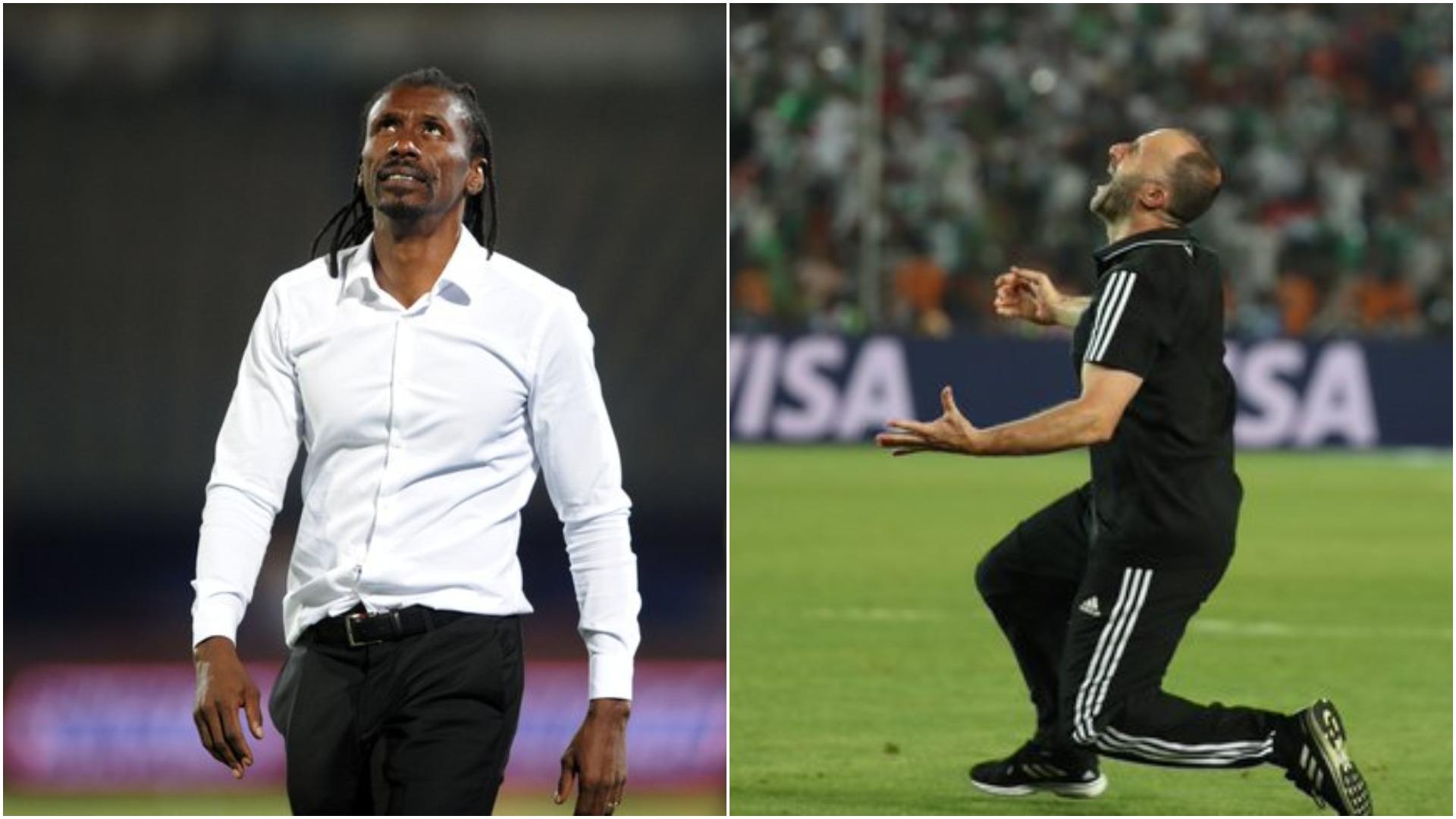 Senegal v Algeria: Friends Cisse and Belmadi do battle for AFCON history