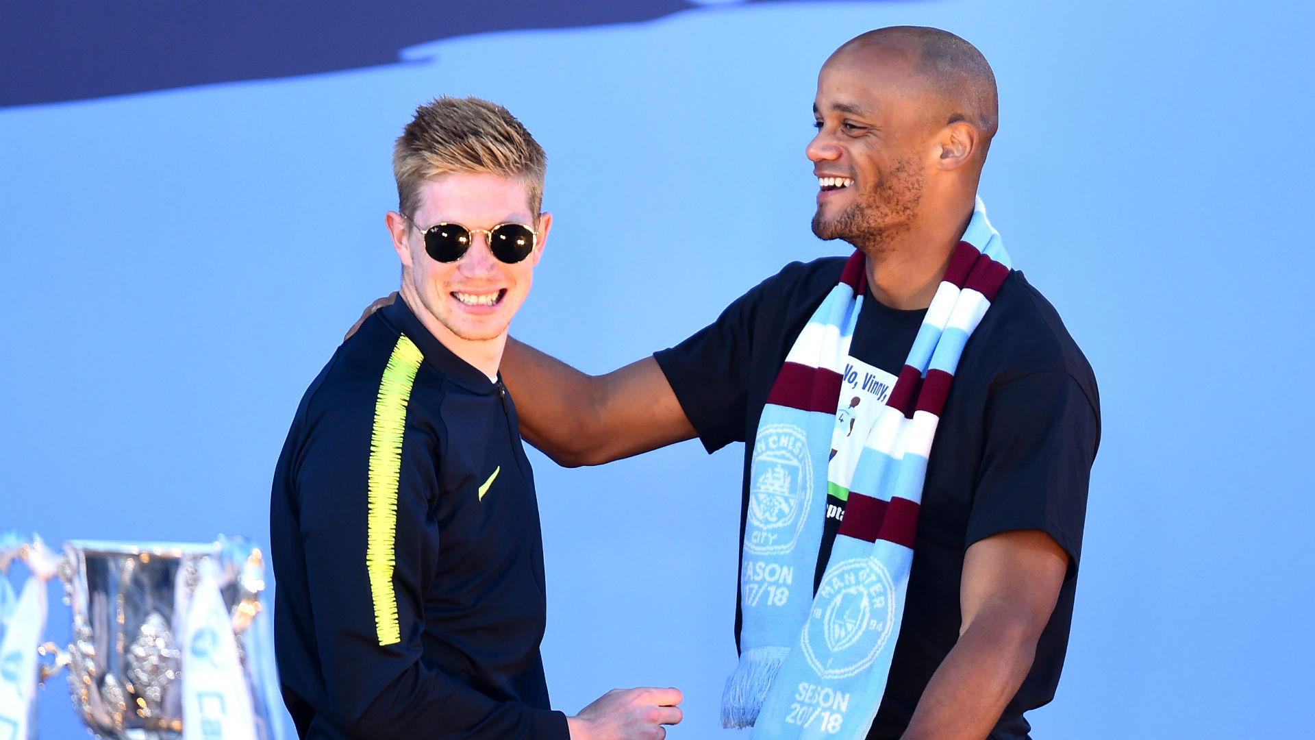 De Bruyne willing to take Man City captaincy