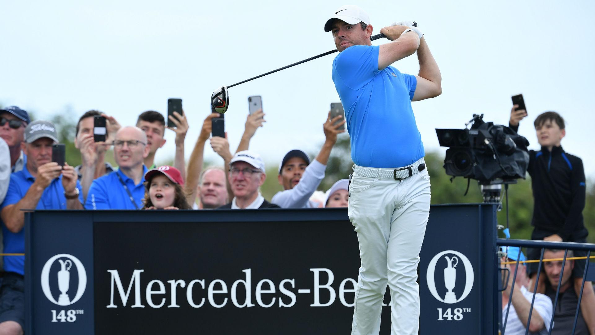 McIlroy cannot escape Open Championship spotlight at Portrush