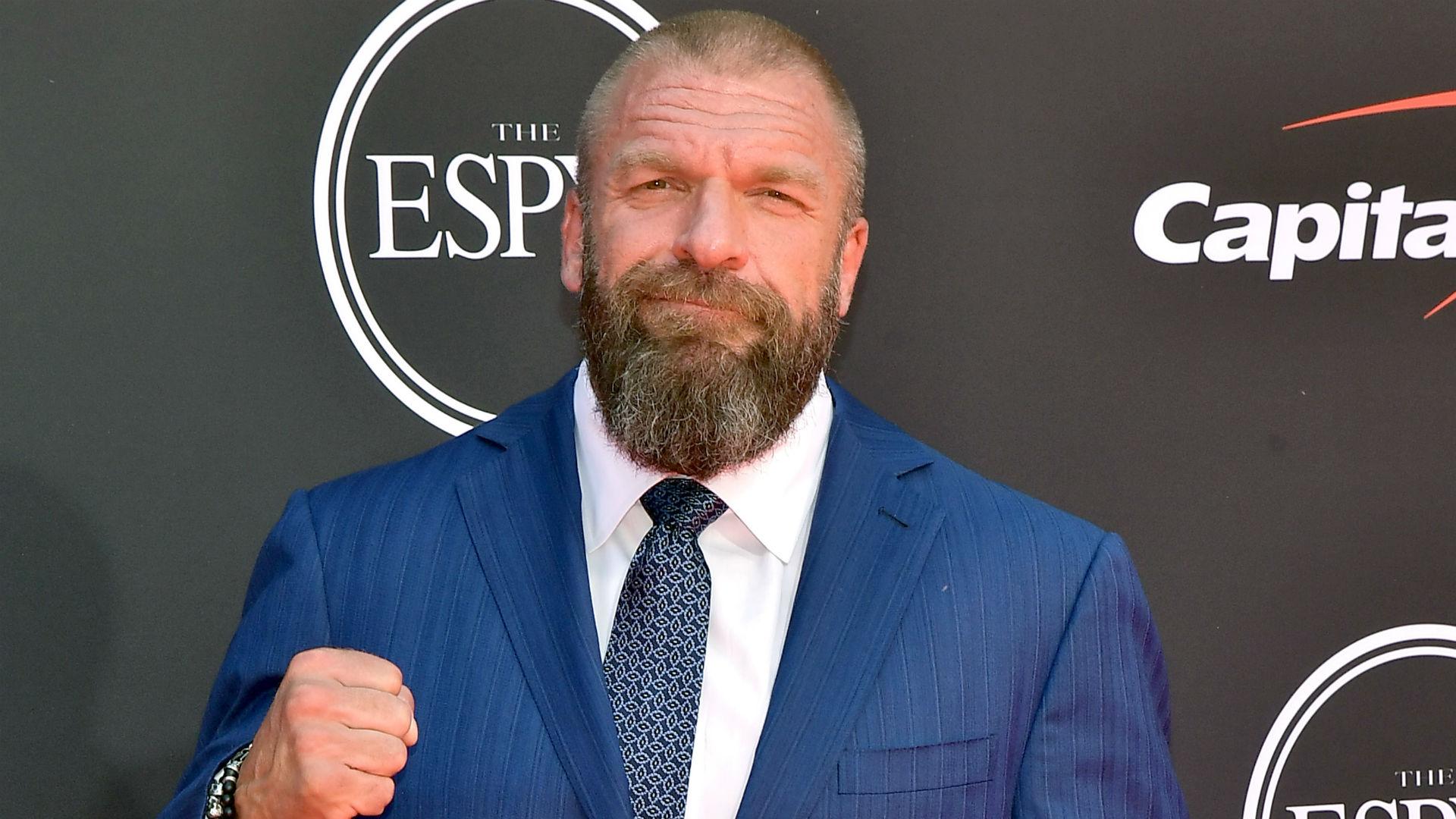Triple H honours England's World Cup winners with WWE title belt