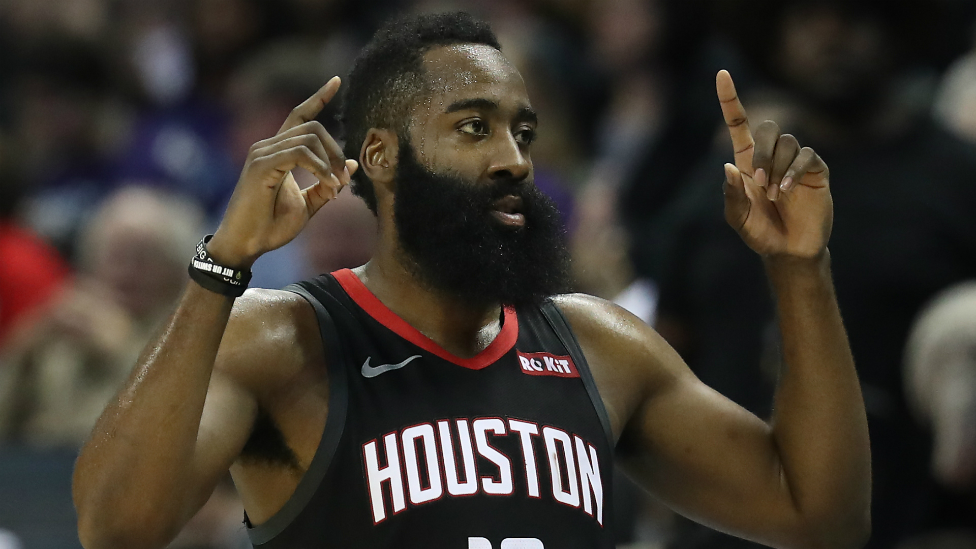 Harden on adjustments he will make for Westbrook: None. None. None.