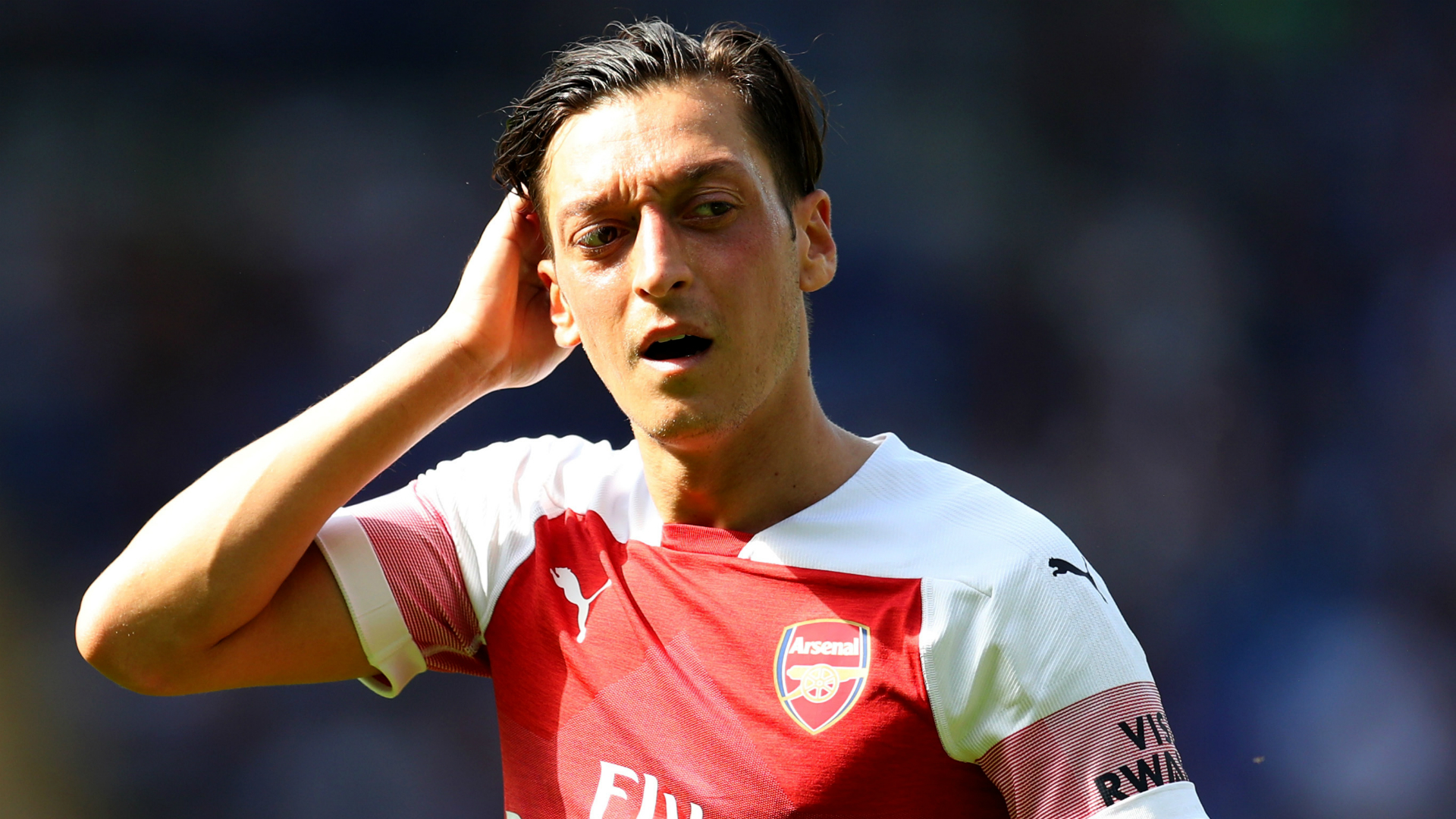 Ozil maintains healthy relationship with Emery