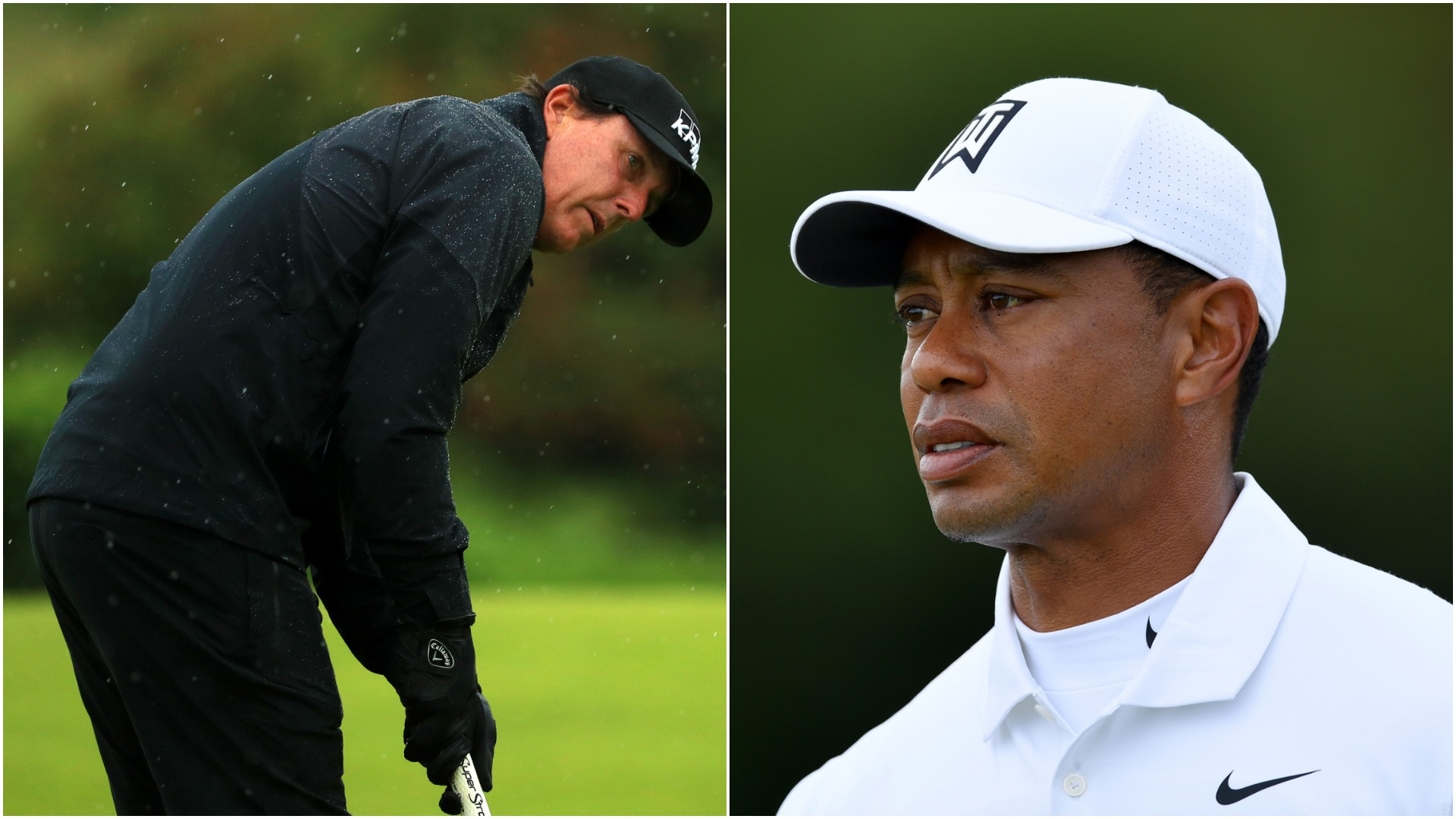 Tiger Woods and Phil Mickelson miss same major cut for first time
