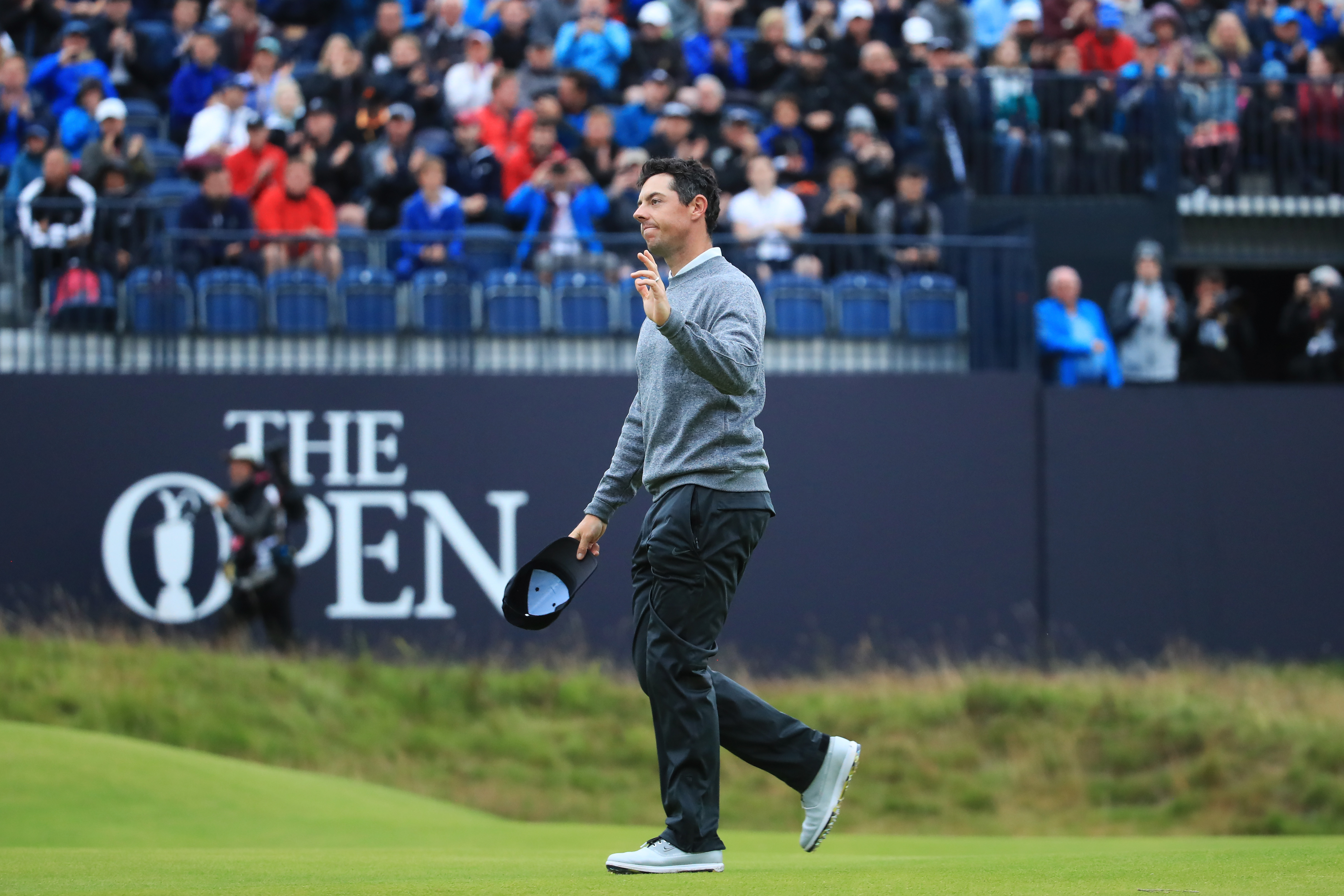 Emotional McIlroy praises 'incredible' support after Open near-miss