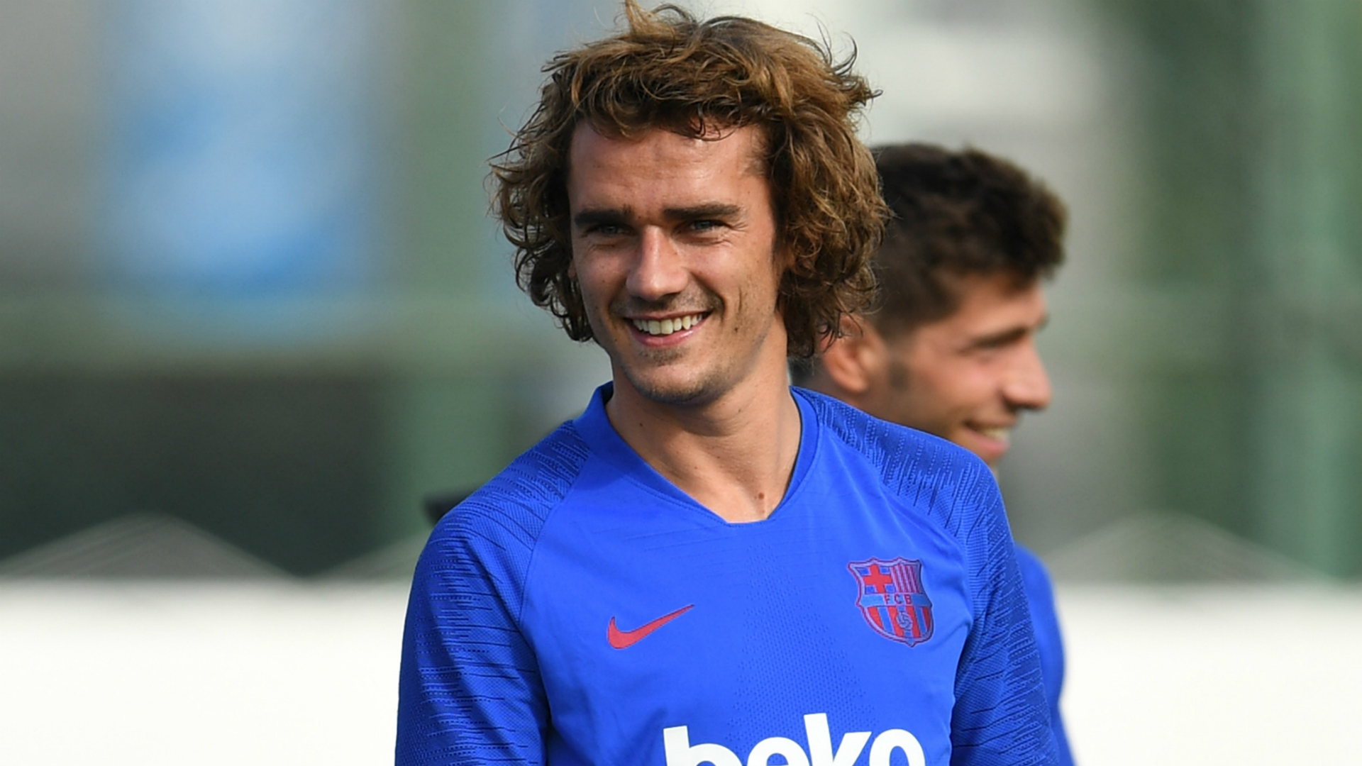 Griezmann cried tears of joy after joining Barca from Atletico
