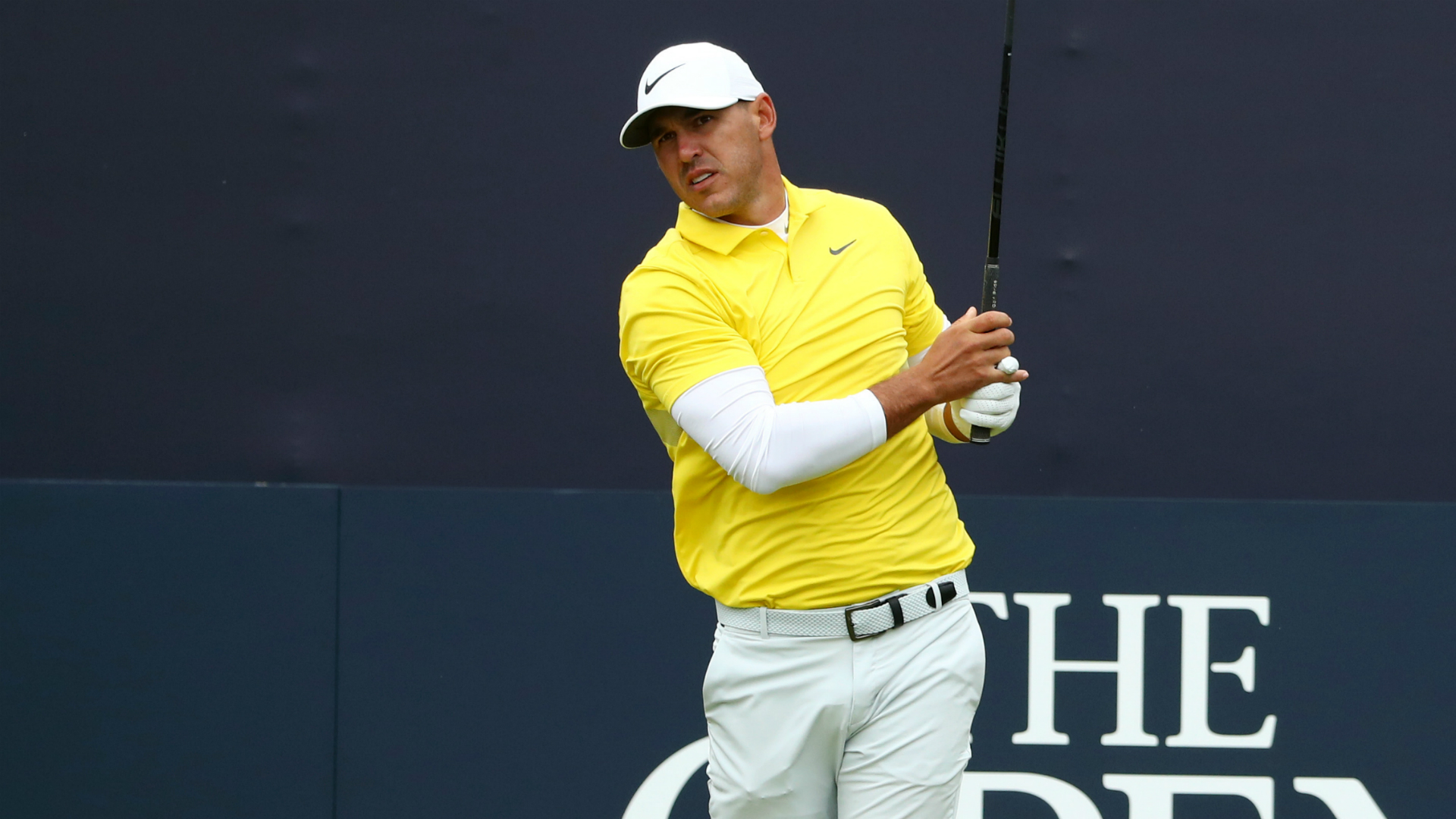 Koepka's Open hopes in tatters after dreadful start to round four