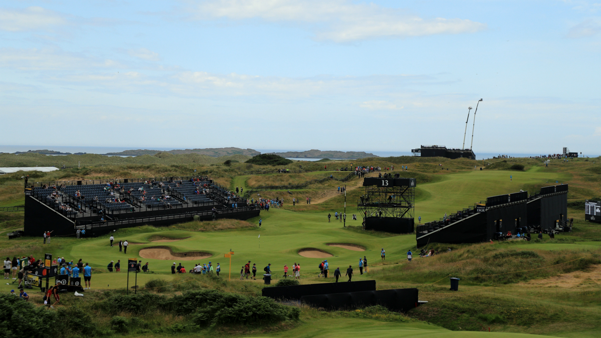 Sunday tee times brought forward due to adverse weather threat at Portrush