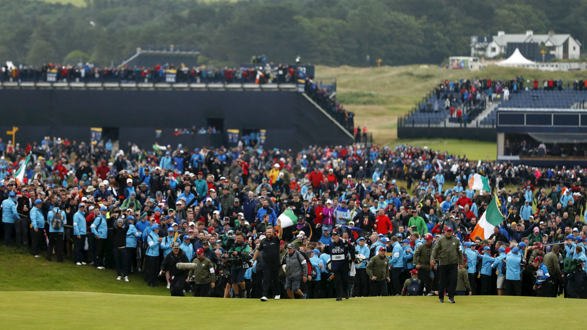 Woods' woes, McIlroy's meltdown, fantastic fans and lovable Lowry - The Open Championship reporters' review