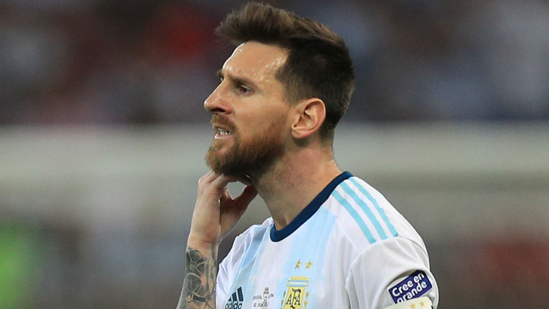Messi banned, fined for Copa America red card