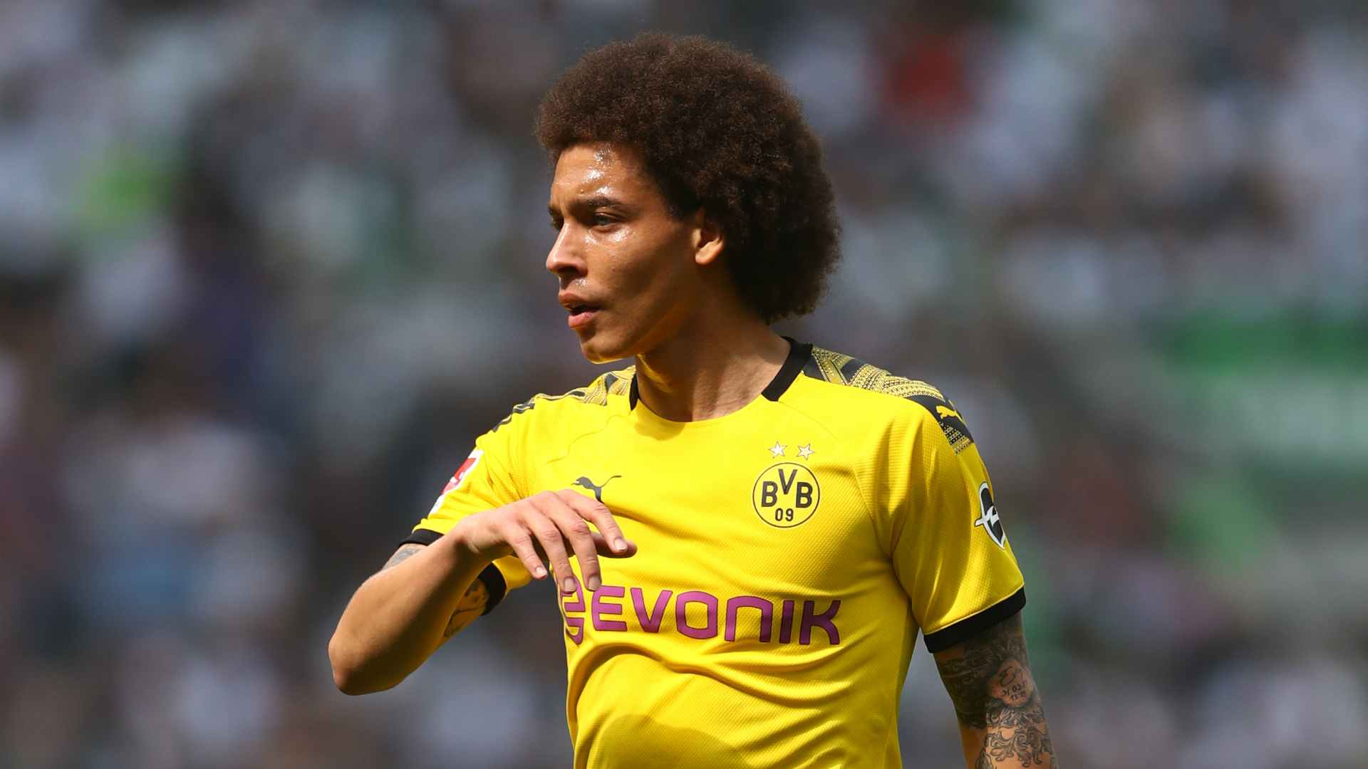 Witsel challenges title hopefuls Dortmund to show courage