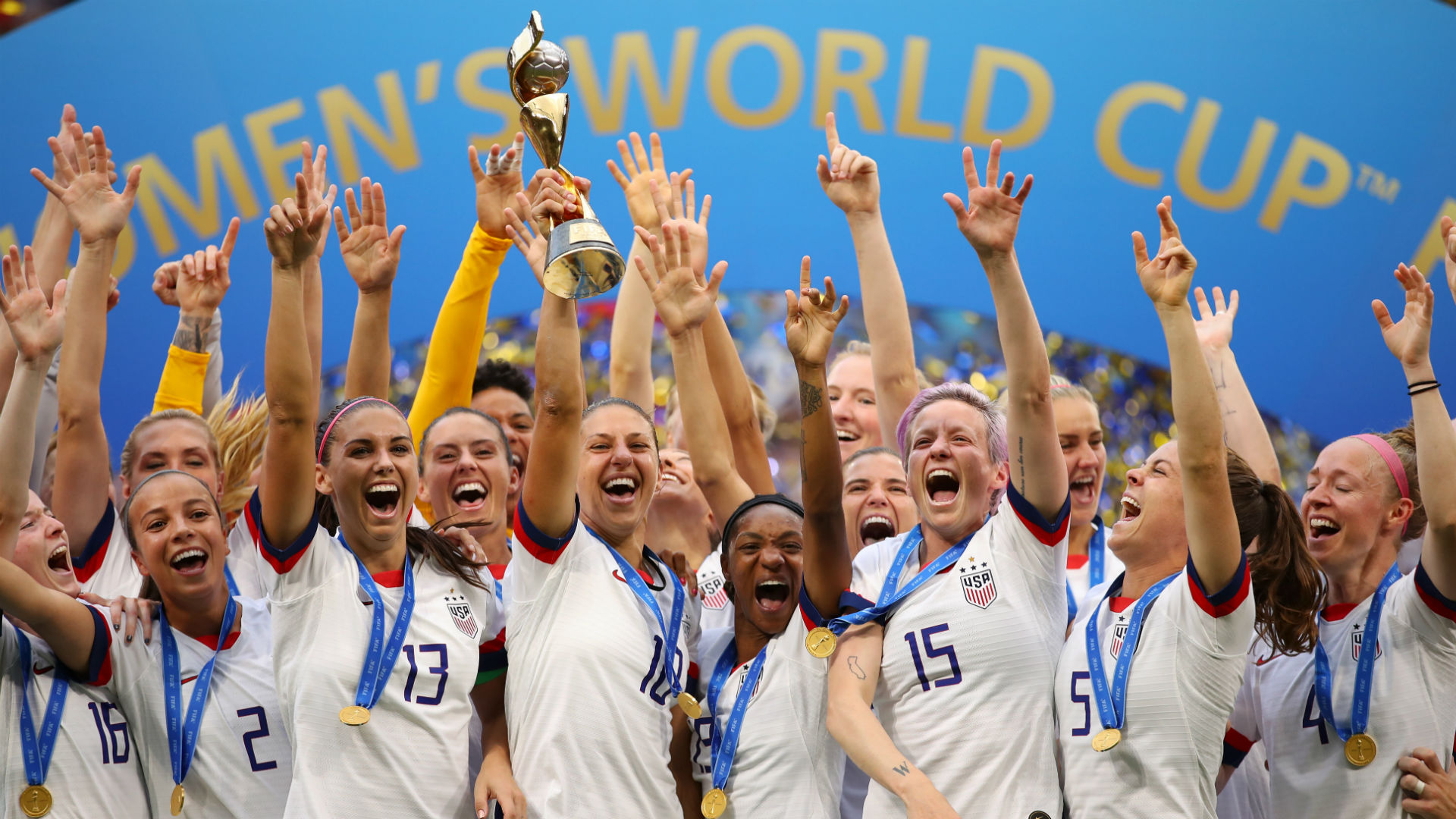 U.S. Soccer says it has paid women's national team more than men's team