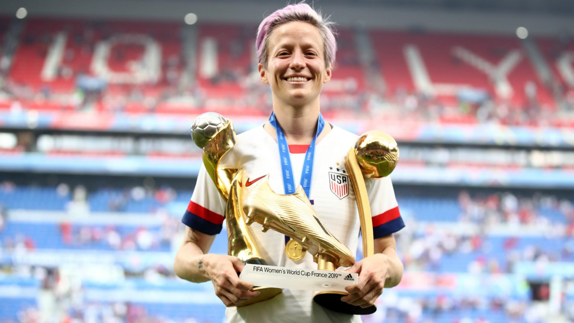 Rapinoe headlines 12-woman shortlist for Best FIFA Women's Player award