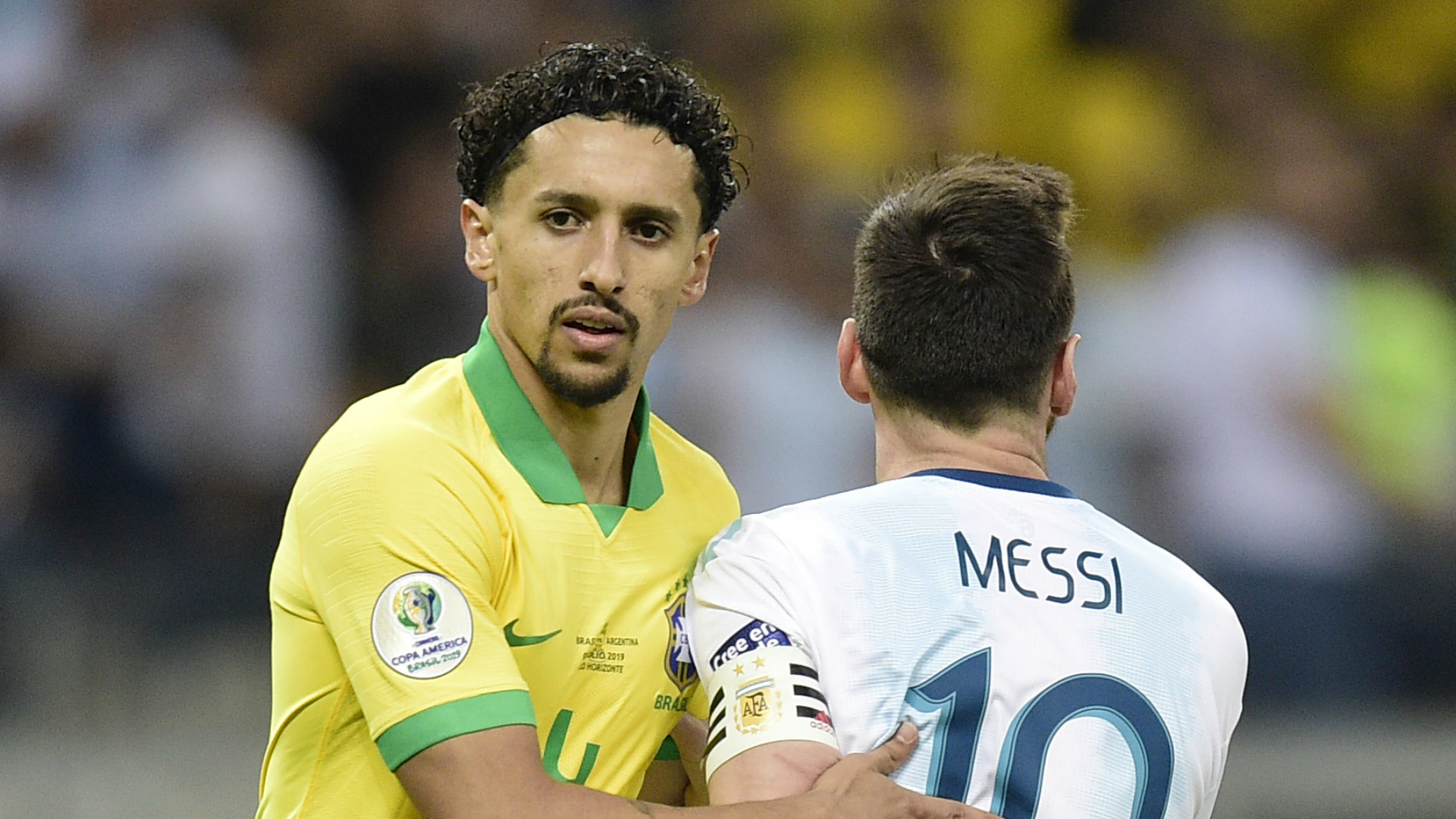 Marking Messi with diarrhoea 'very complicated', says Marquinhos