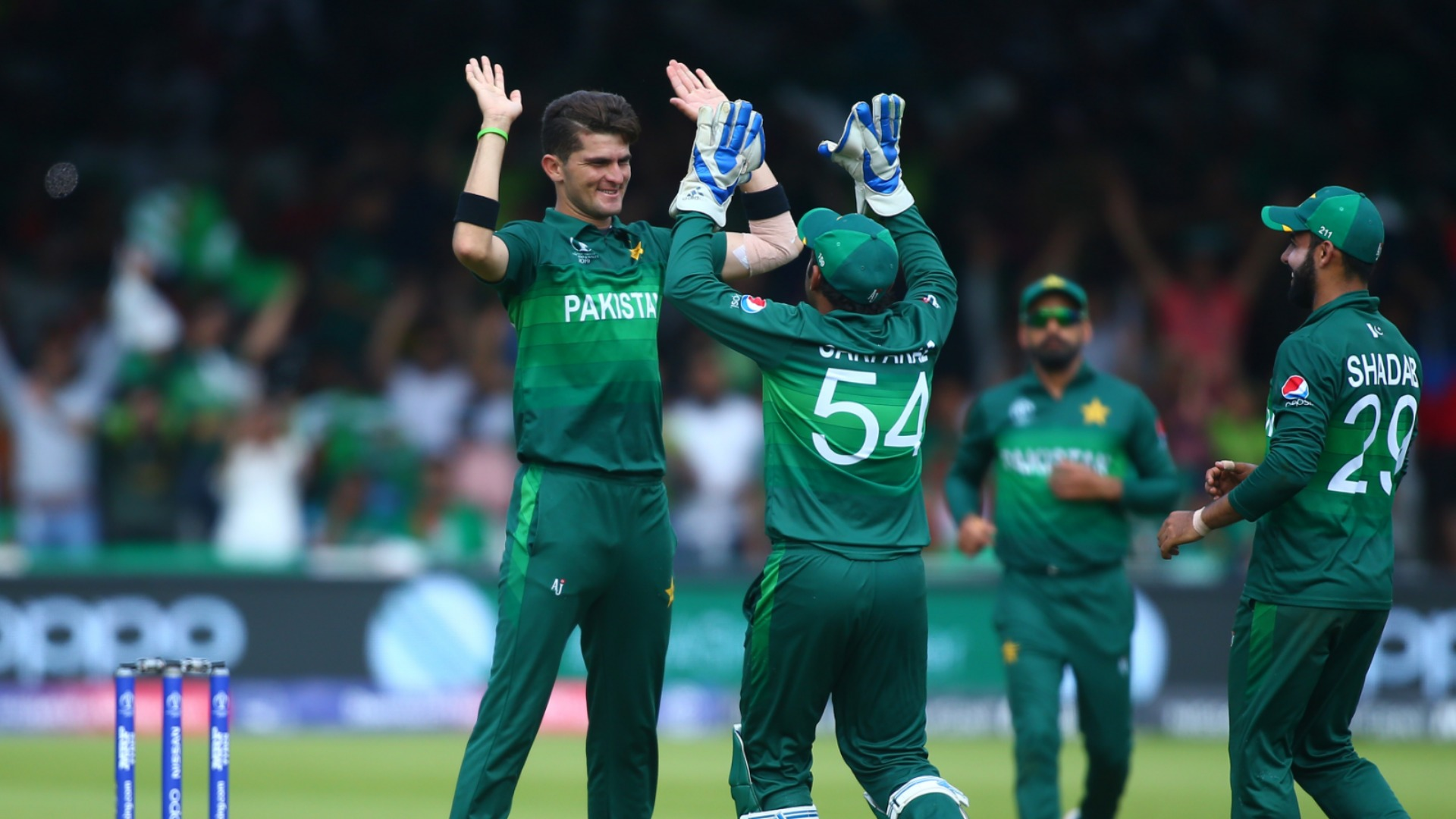 Shaheen sees Pakistan bow out on a high
