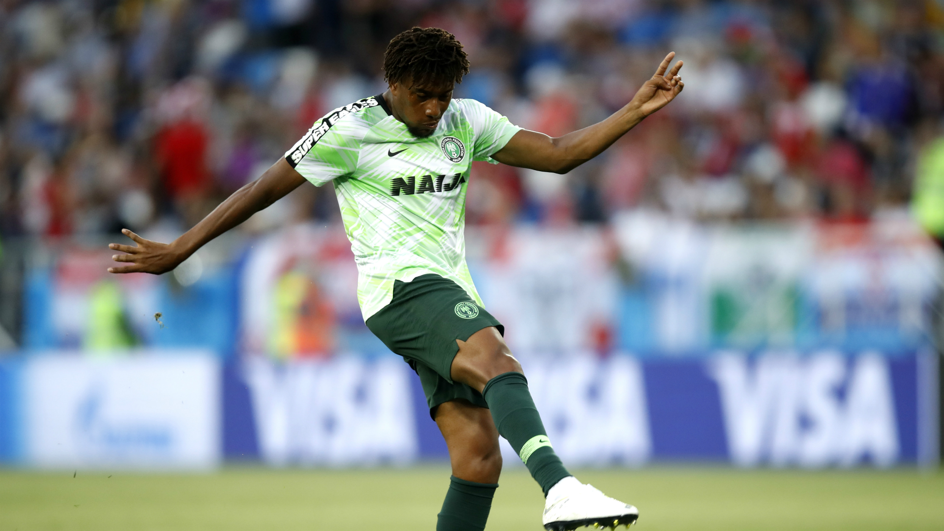 Nigeria 3 Cameroon 2: Iwobi secures comeback win as holders eliminated