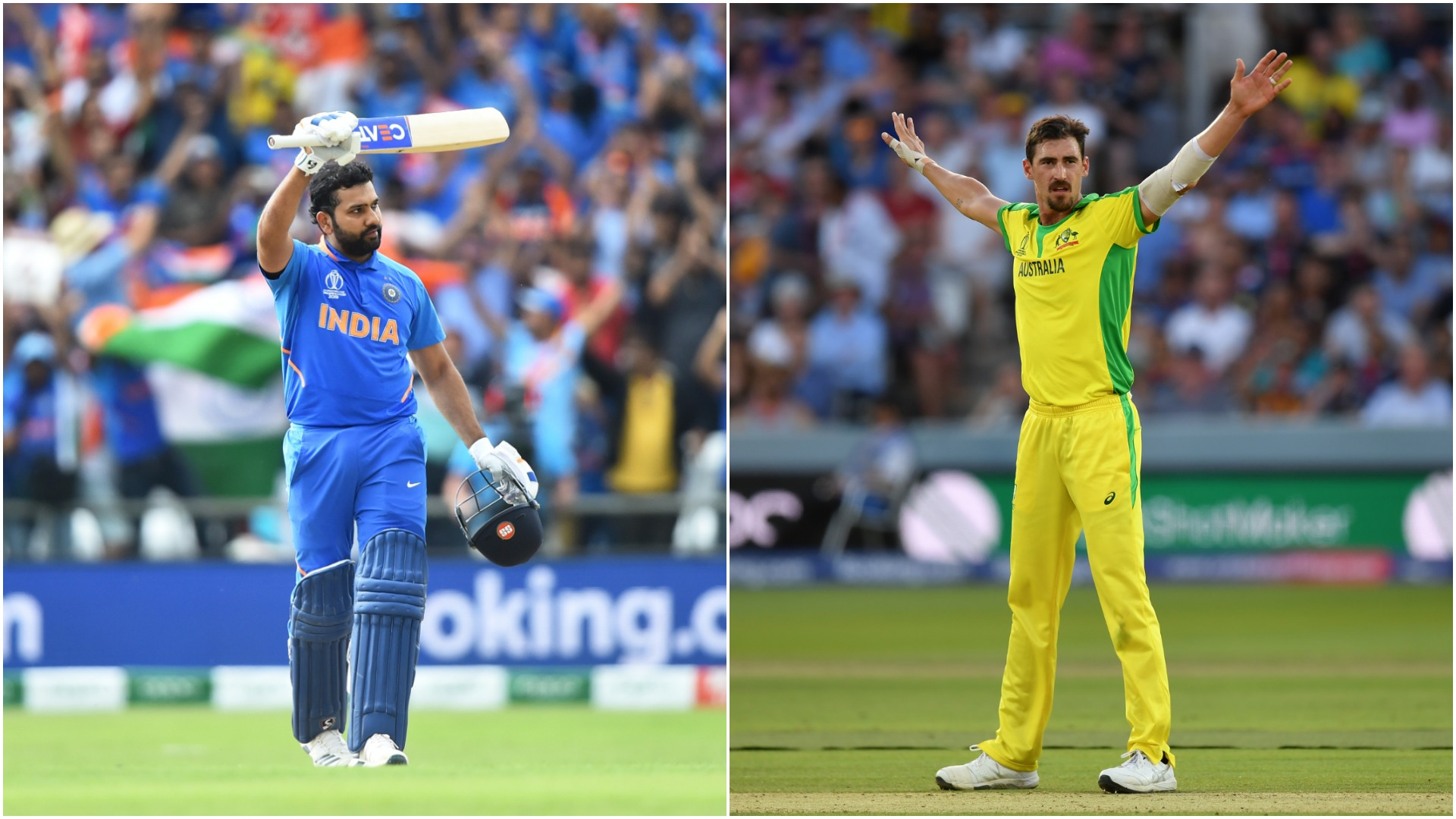 Rampant Rohit, sensational Starc – World Cup group stage in Opta numbers