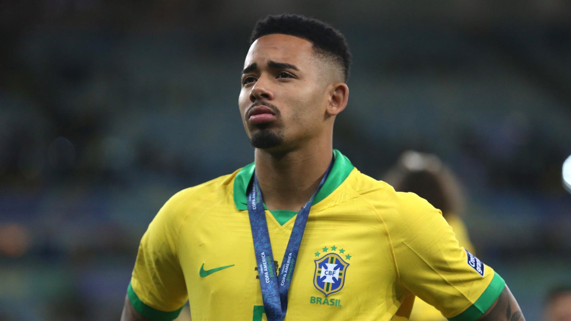 Jesus apologises for Copa America final outburst