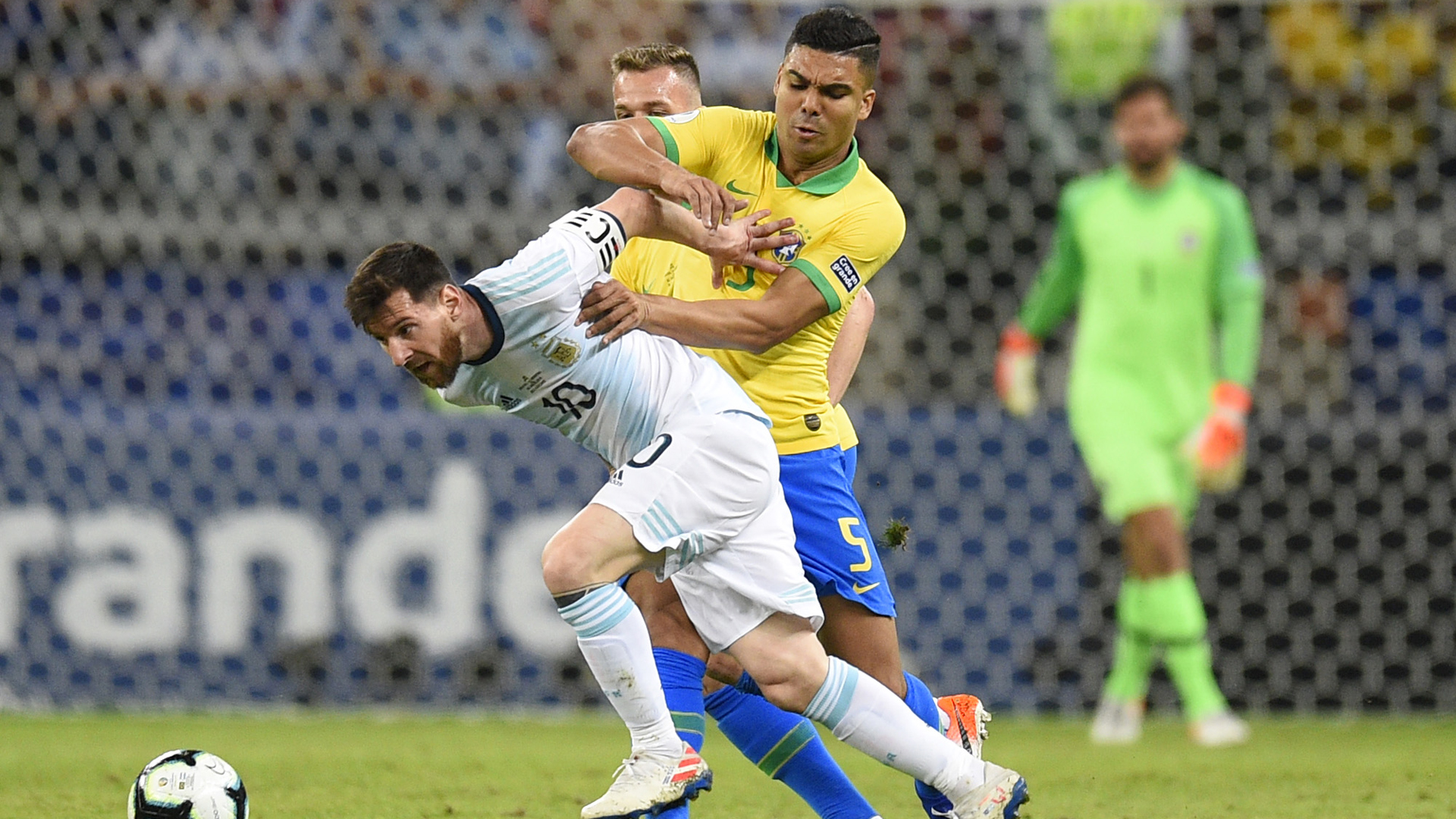 Those who have a mouth speak what they want – Casemiro responds to Messi