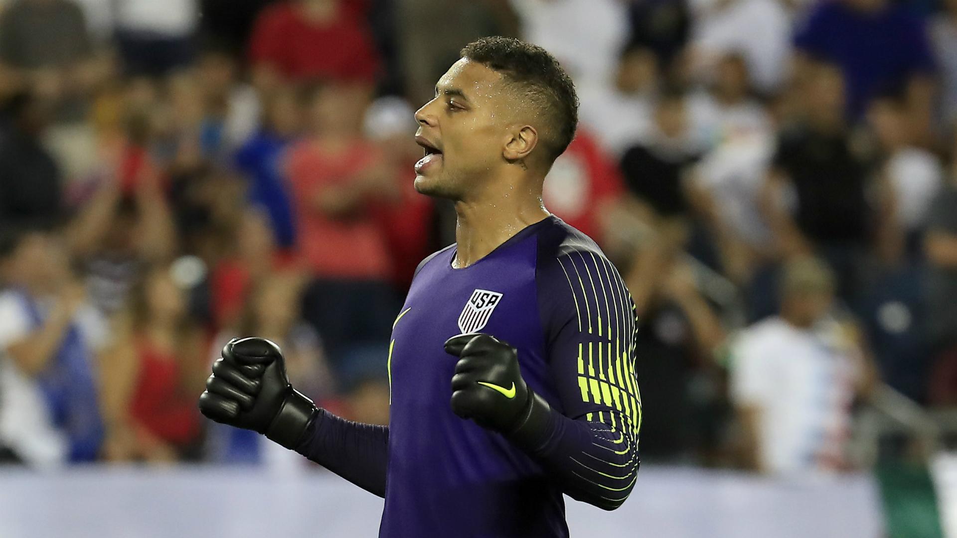 Manchester City loan United States goalkeeper Steffen to Fortuna Dusseldorf