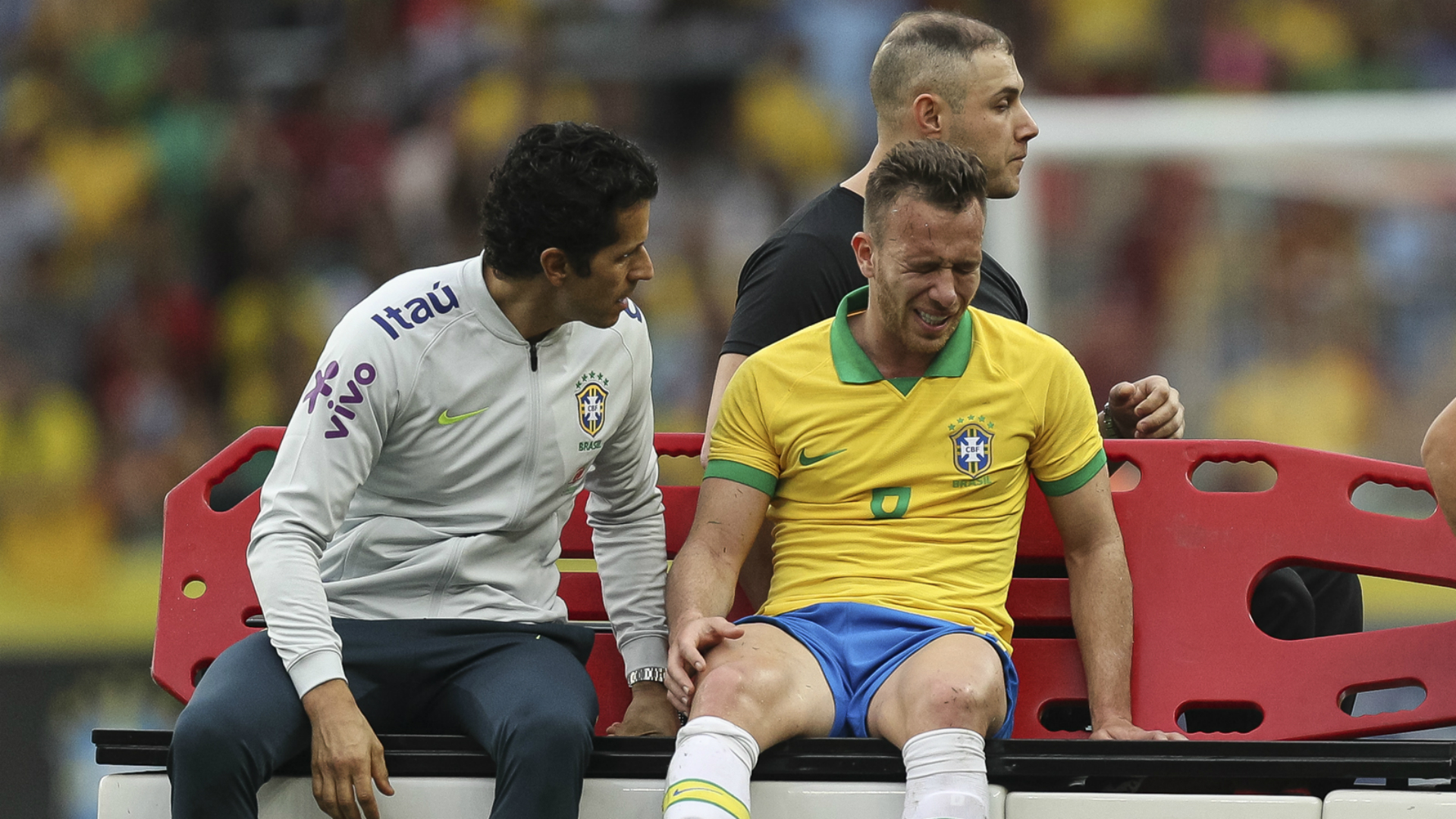 Brazil 7 Honduras 0: Arthur injured in pre-Copa America demolition