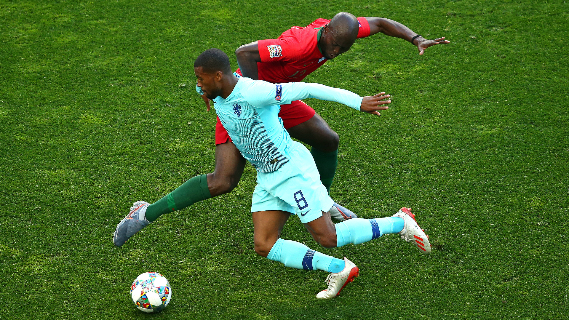 Wijnaldum frustrated as Netherlands miss out on Nations League title
