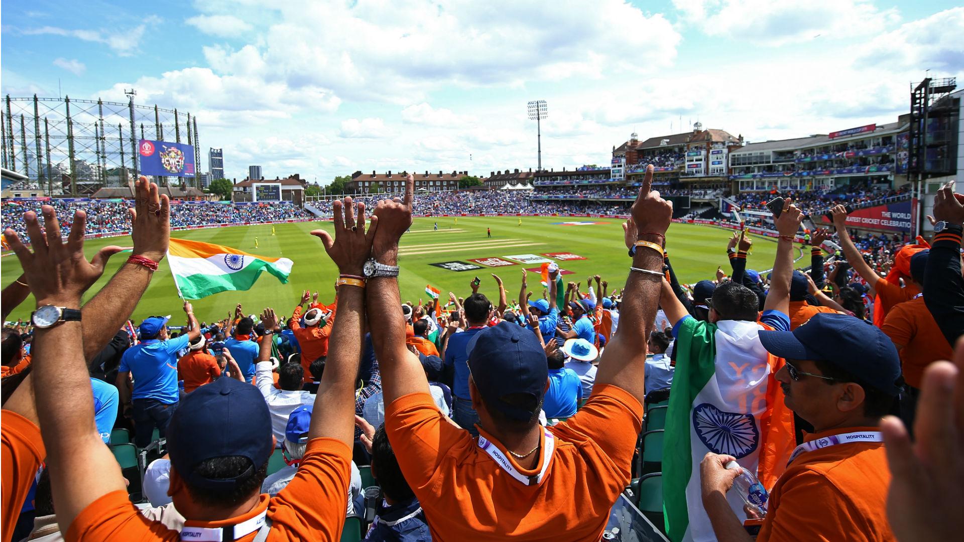 Bharat Army inspire India to end Australia's ODI winning