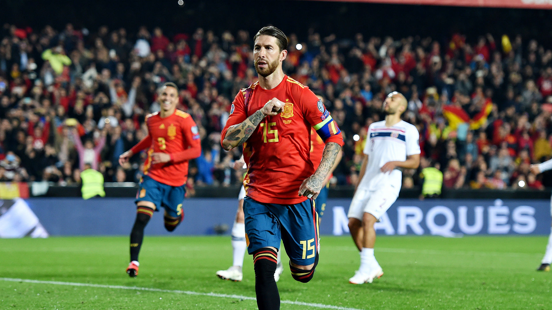 Luis Enrique's absence no problem for Spain, claims Ramos