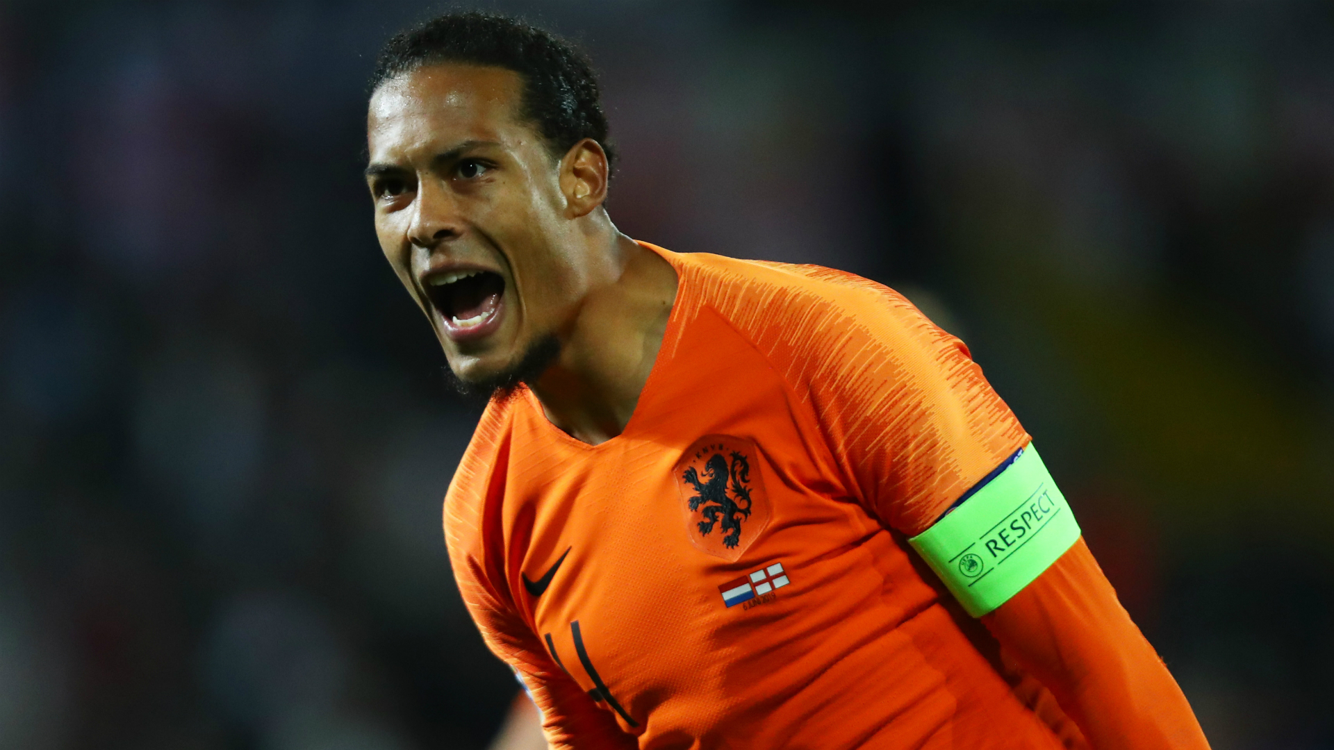 Van Dijk not bothered by England booing