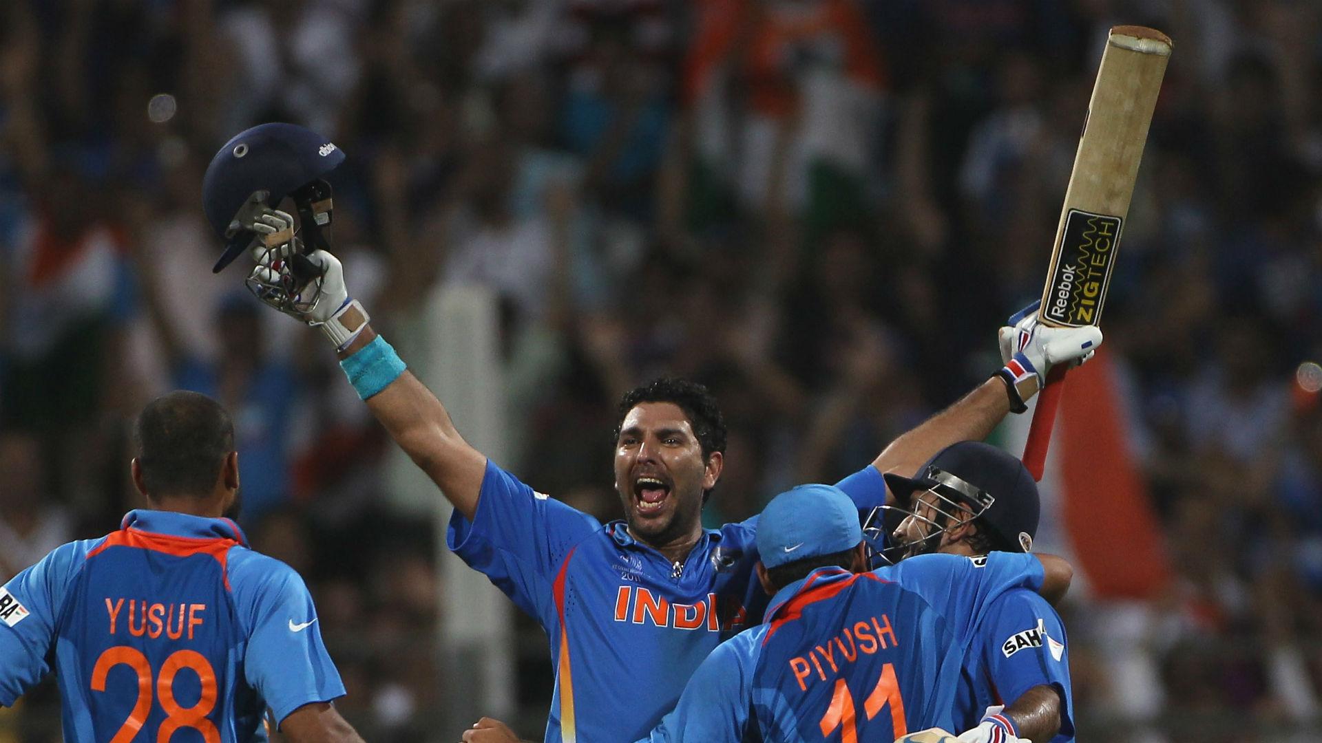 World Cup hero, brutal Broad demolition - retiring Yuvraj Singh's career highlights