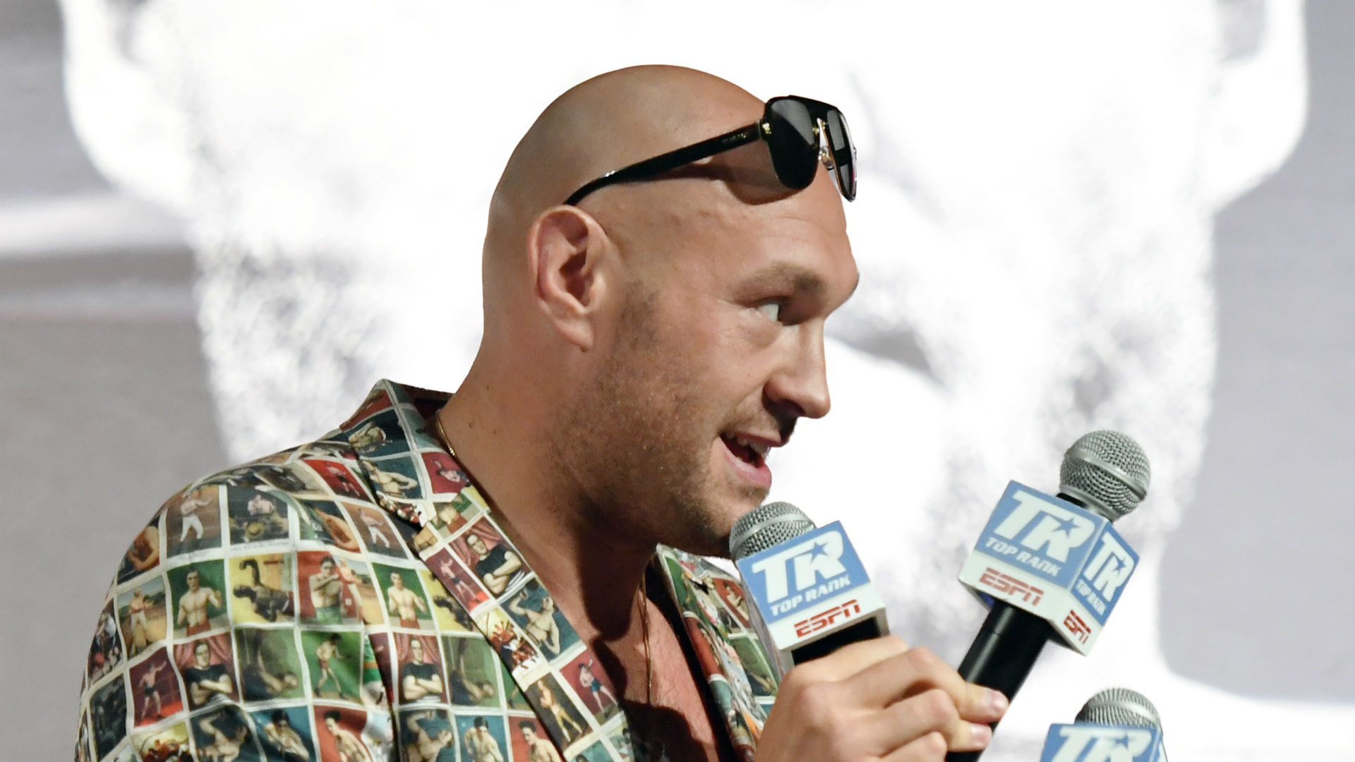 I look to inspire people - Fury offers positive message ahead of Schwarz fight