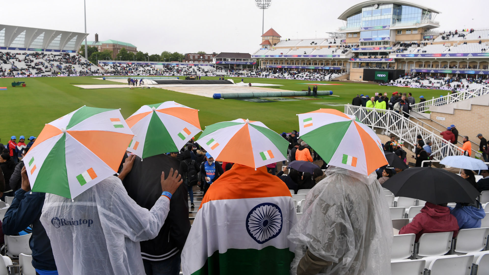 India v New Zealand abandoned as weather causes further frustration