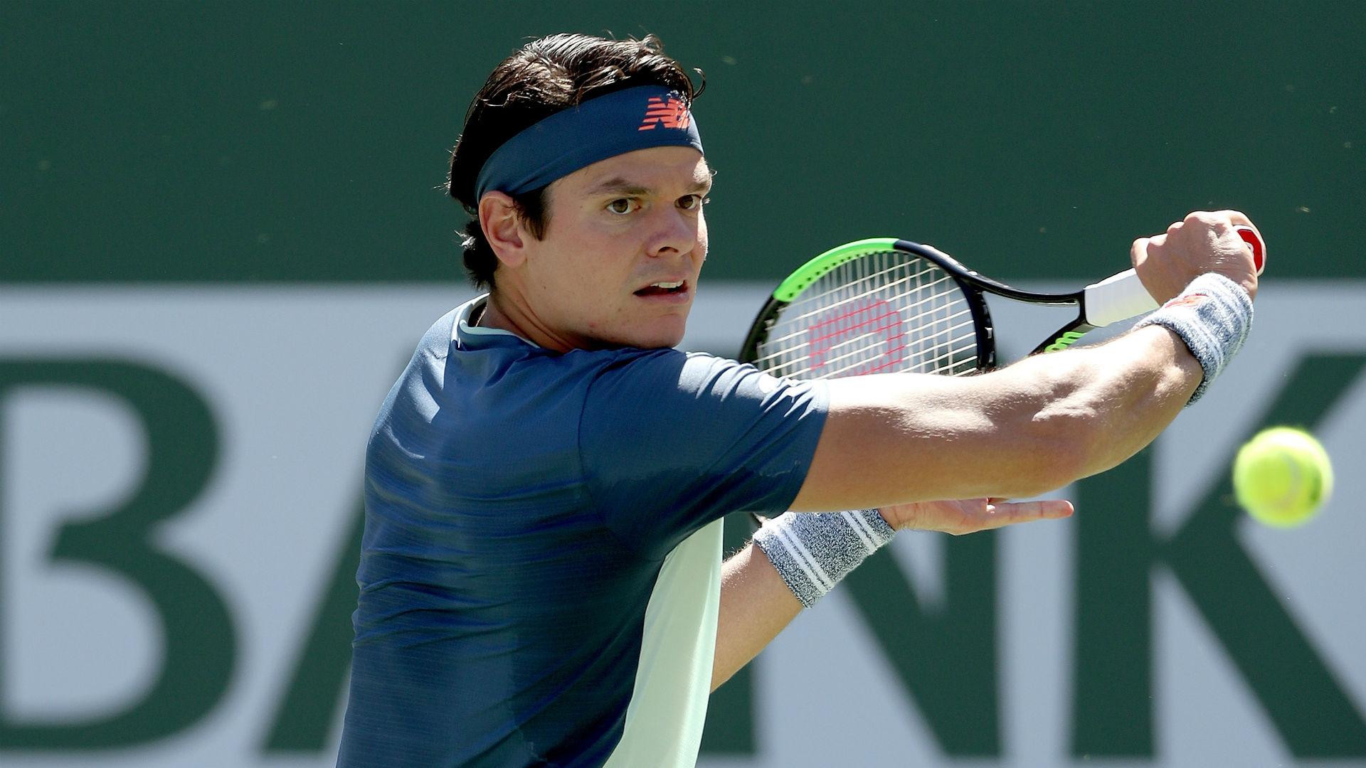 Raonic edges out Tsonga at Stuttgart Open, Coric fights back in 's-Hertogenbosch