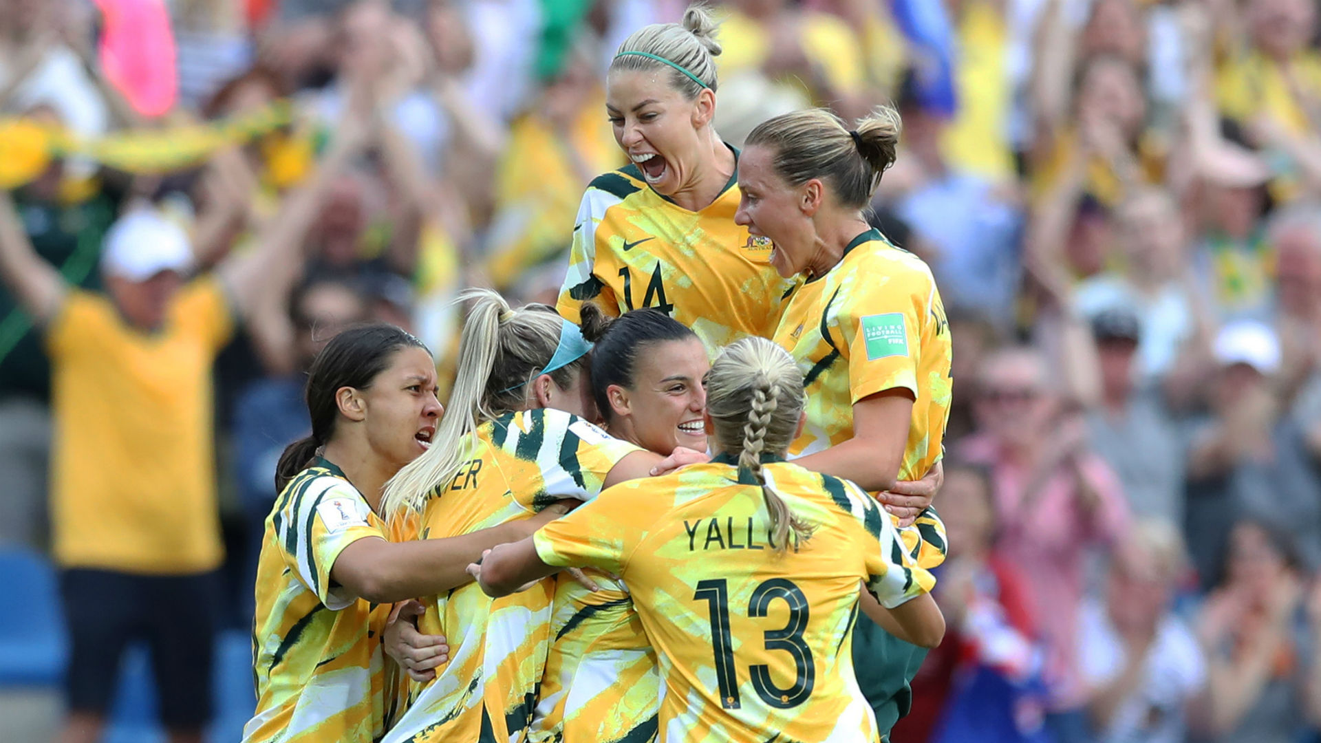 Women's World Cup: Australia stun Brazil as France and Germany progress