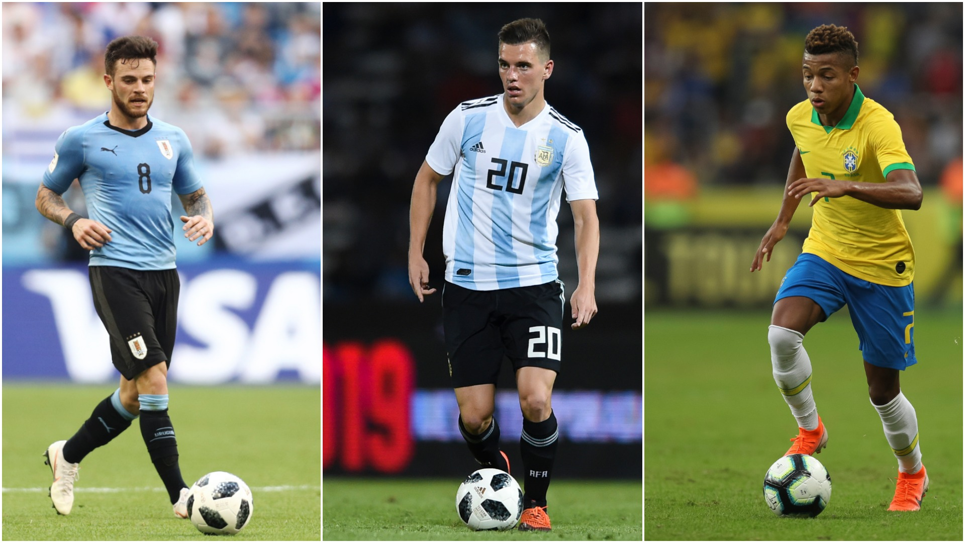 Lo Celso, Nandez, Neres - Experts pick their players to watch at the Copa America