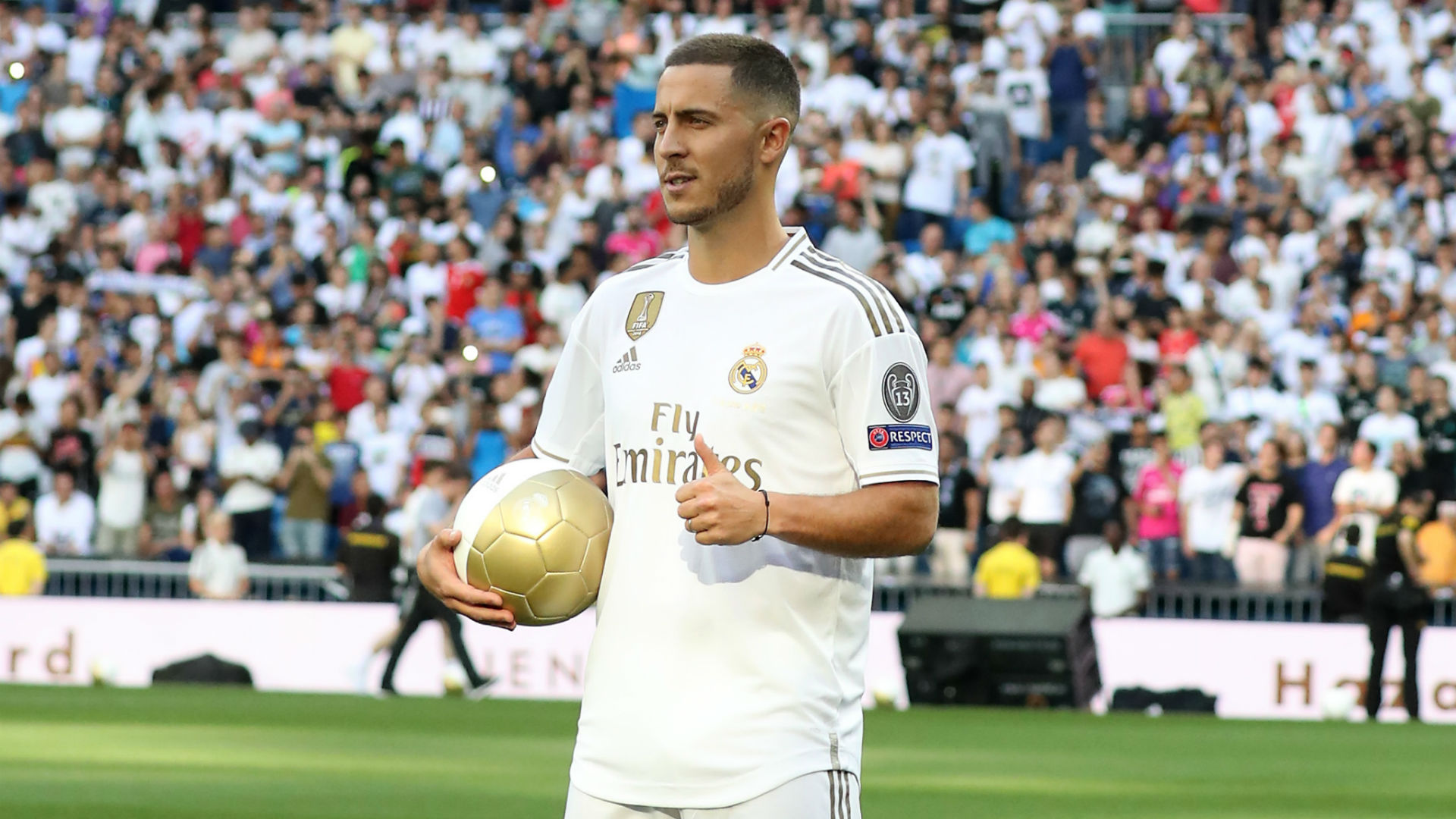 I'm not a Galactico yet, says new Real Madrid signing Hazard