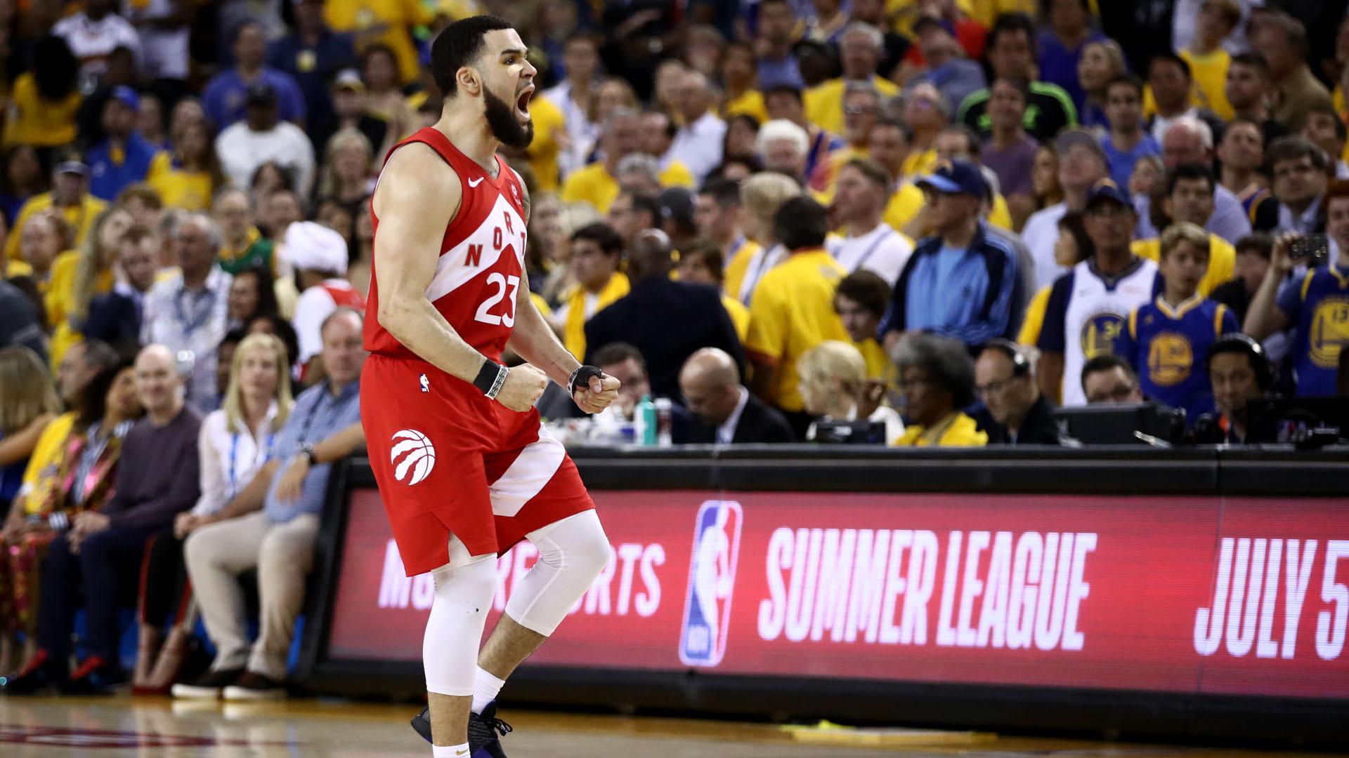 Raptors make NBA history after dethroning Warriors