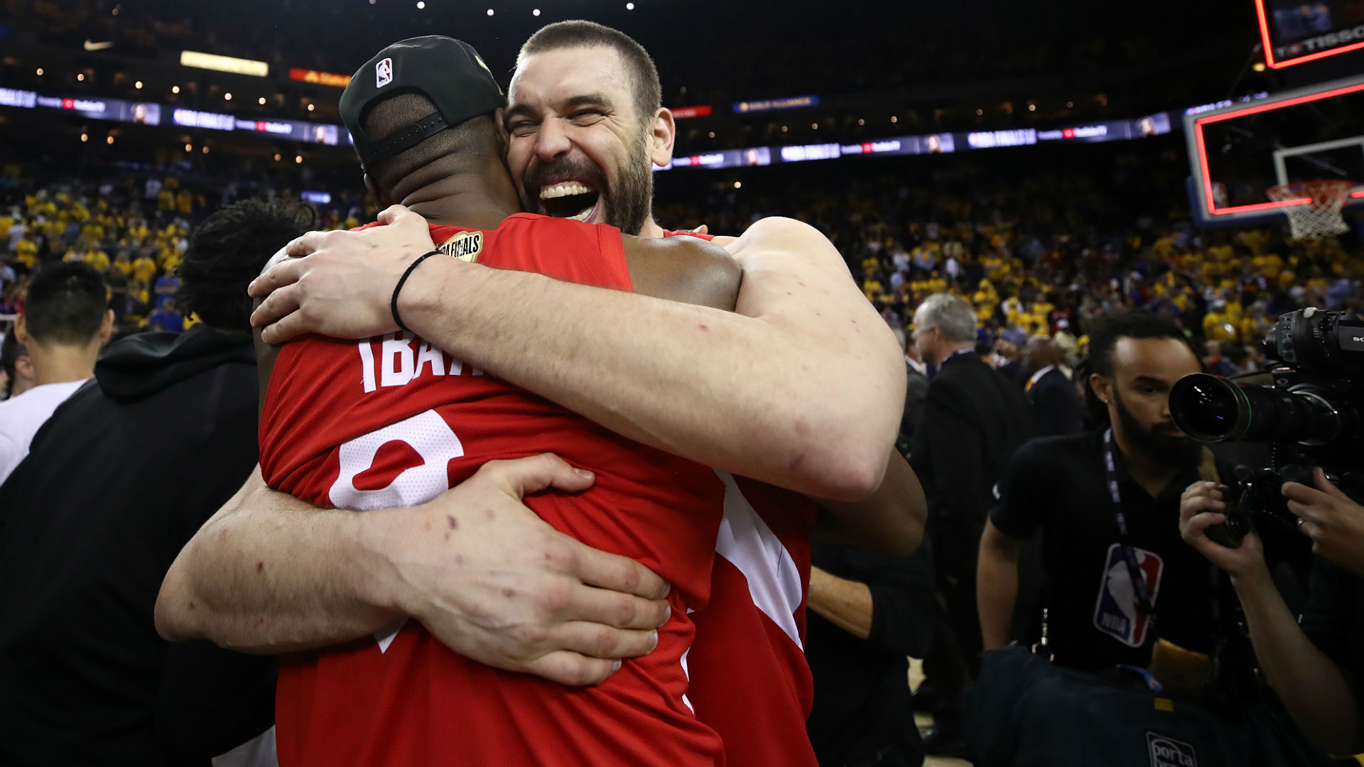NBA players, basketball world react to Raptors winning first title in franchise history