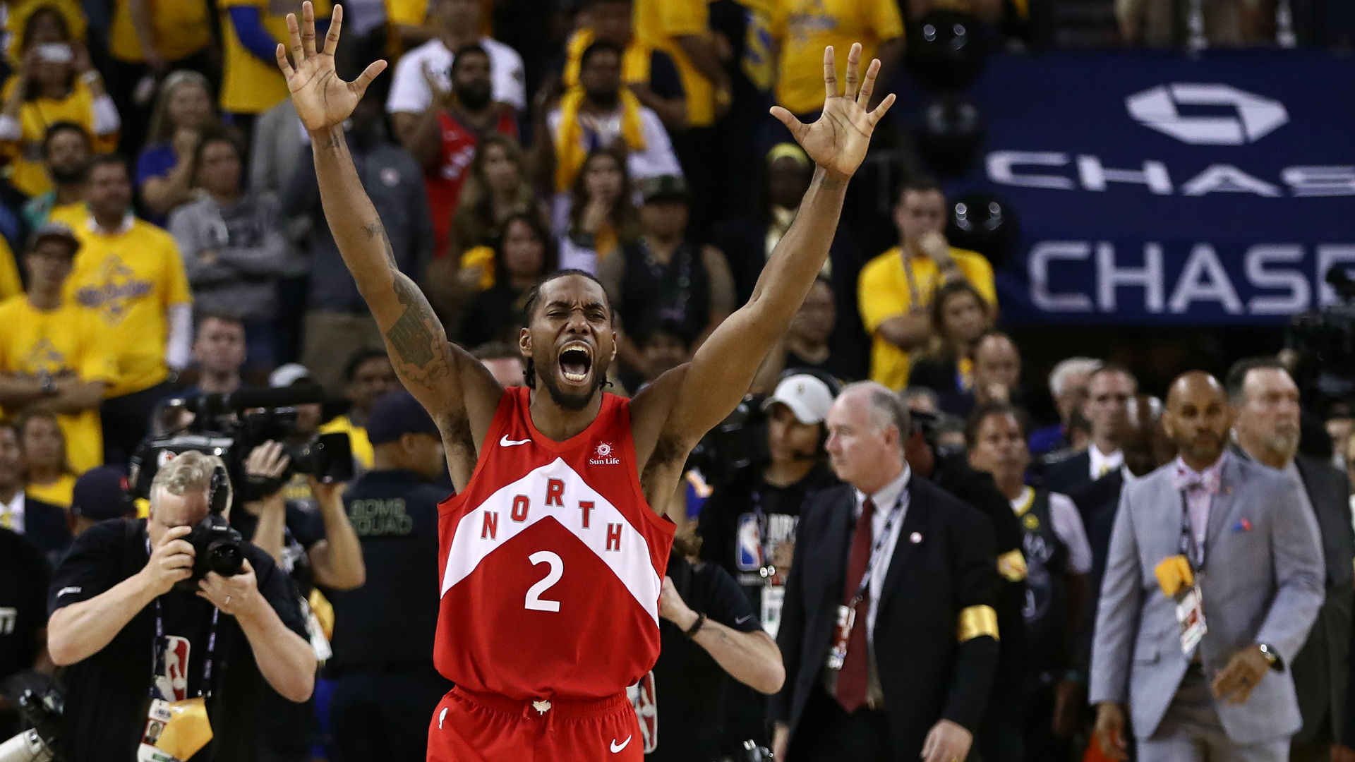 Kawhi Leonard crowned Finals MVP after leading Raptors to first NBA title