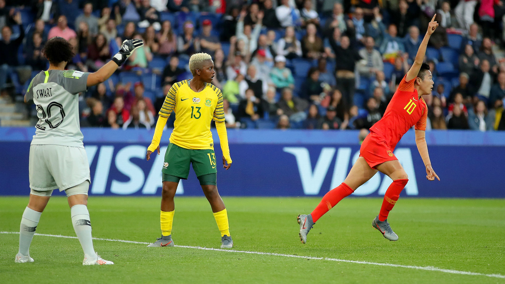 Women's World Cup 2019: China takes nail-biter over South Africa