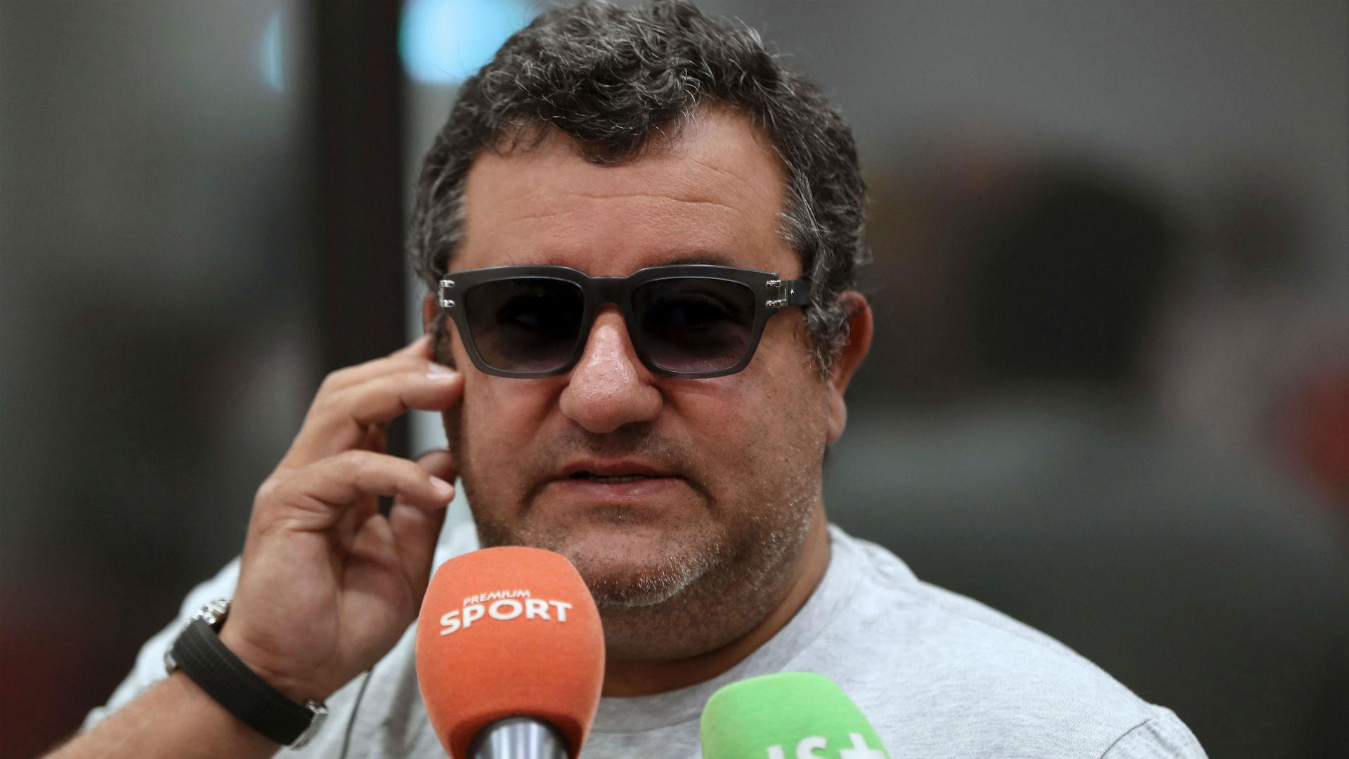 FIFA lift worldwide Raiola ban