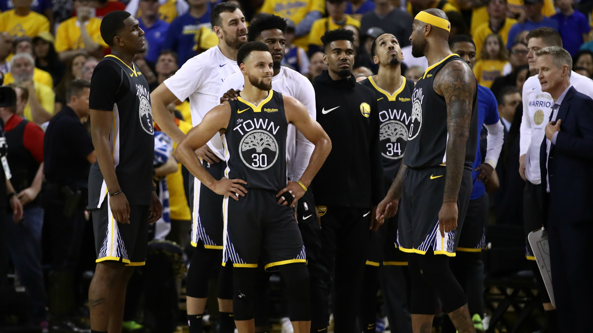 Kerr in awe of injury-ravaged Warriors after Finals loss