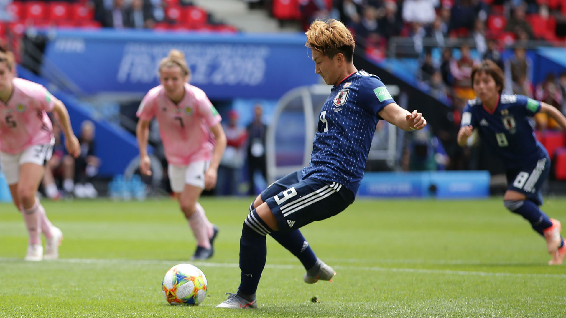 Women's World Cup 2019: Japan bounces back with 2-1 win over Scotland