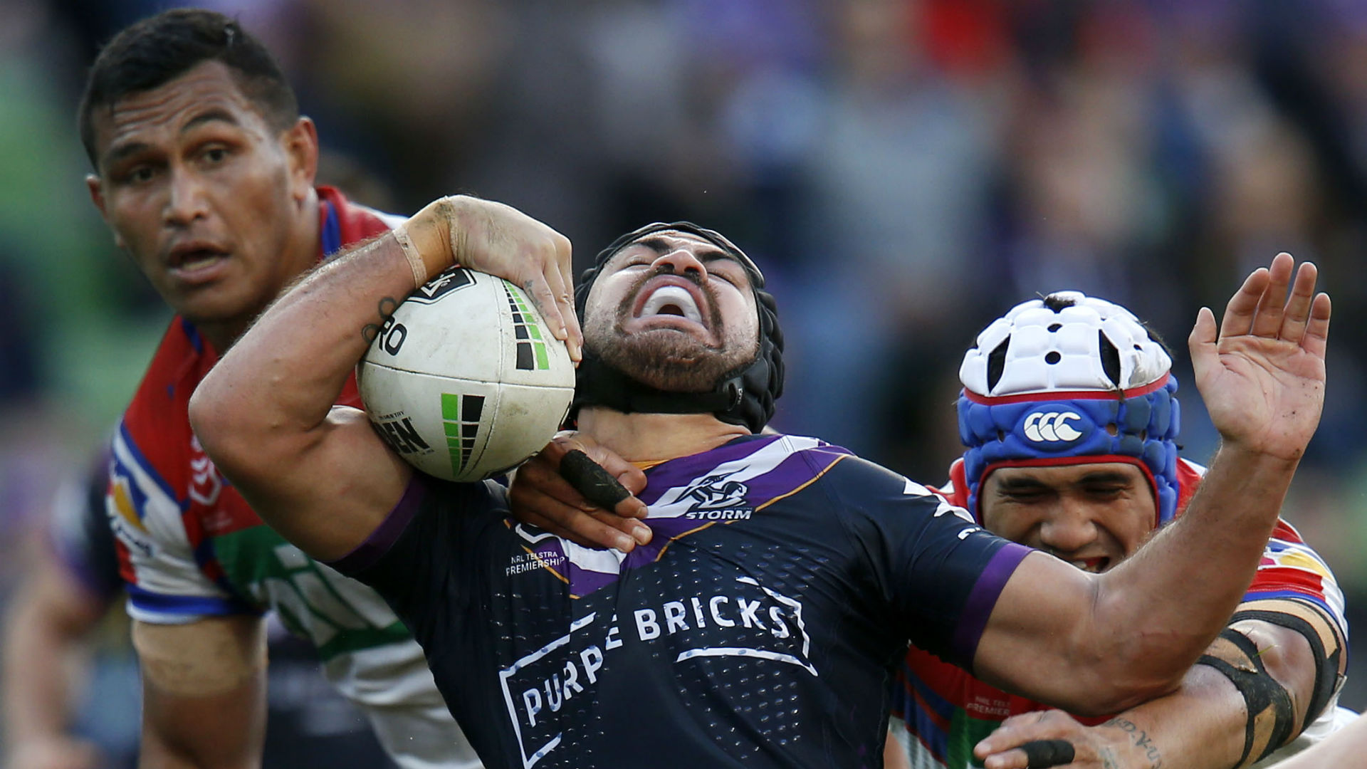 In-form Storm rout Knights as ailing Rabbitohs lose again